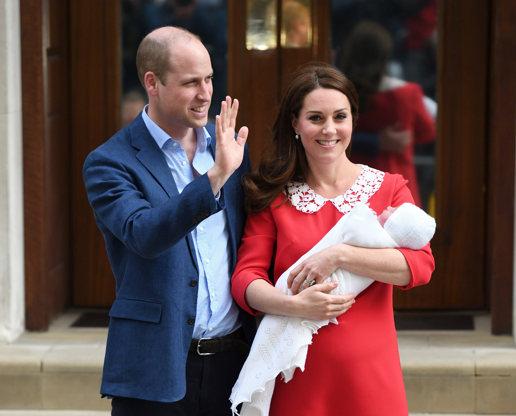 Kate Middleton Prince William New Baby - Lead