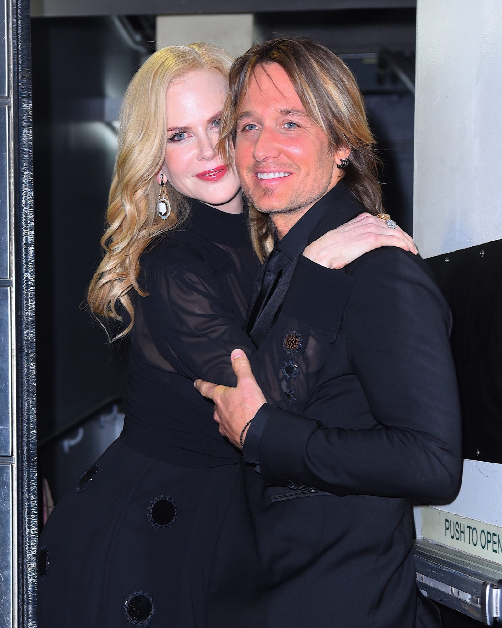 Keith Urban and Nicole Kidman lead