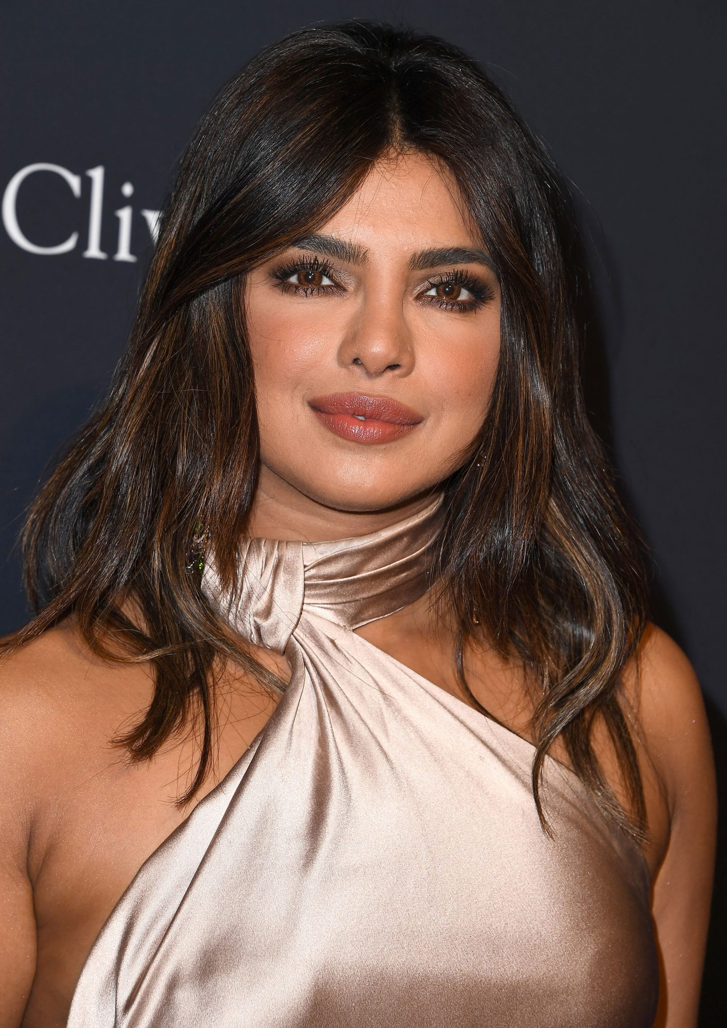 Priyanka Chopra - Brown Hair With Caramel Highlights