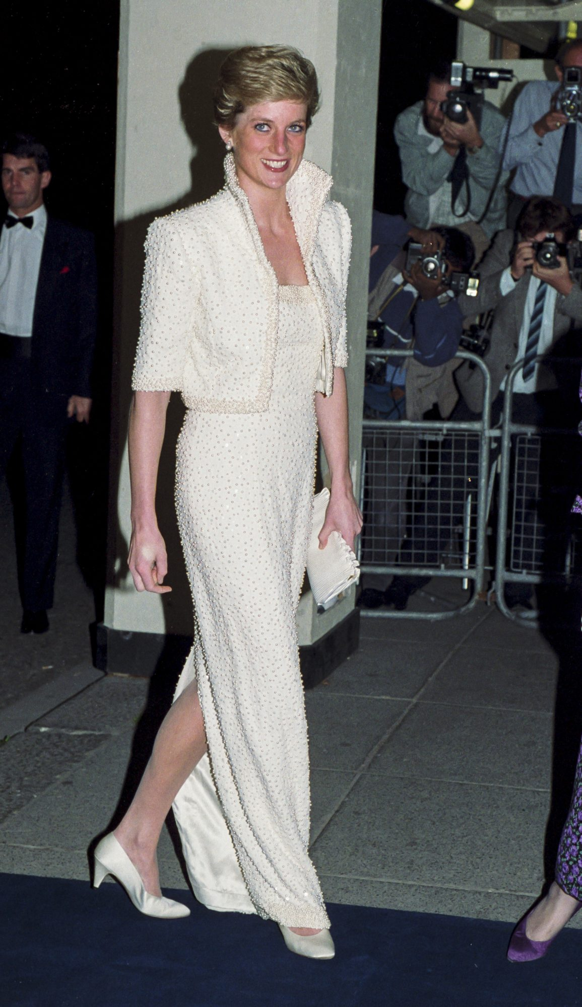 Diana, Princess of Wales attends a British Fashion Awards