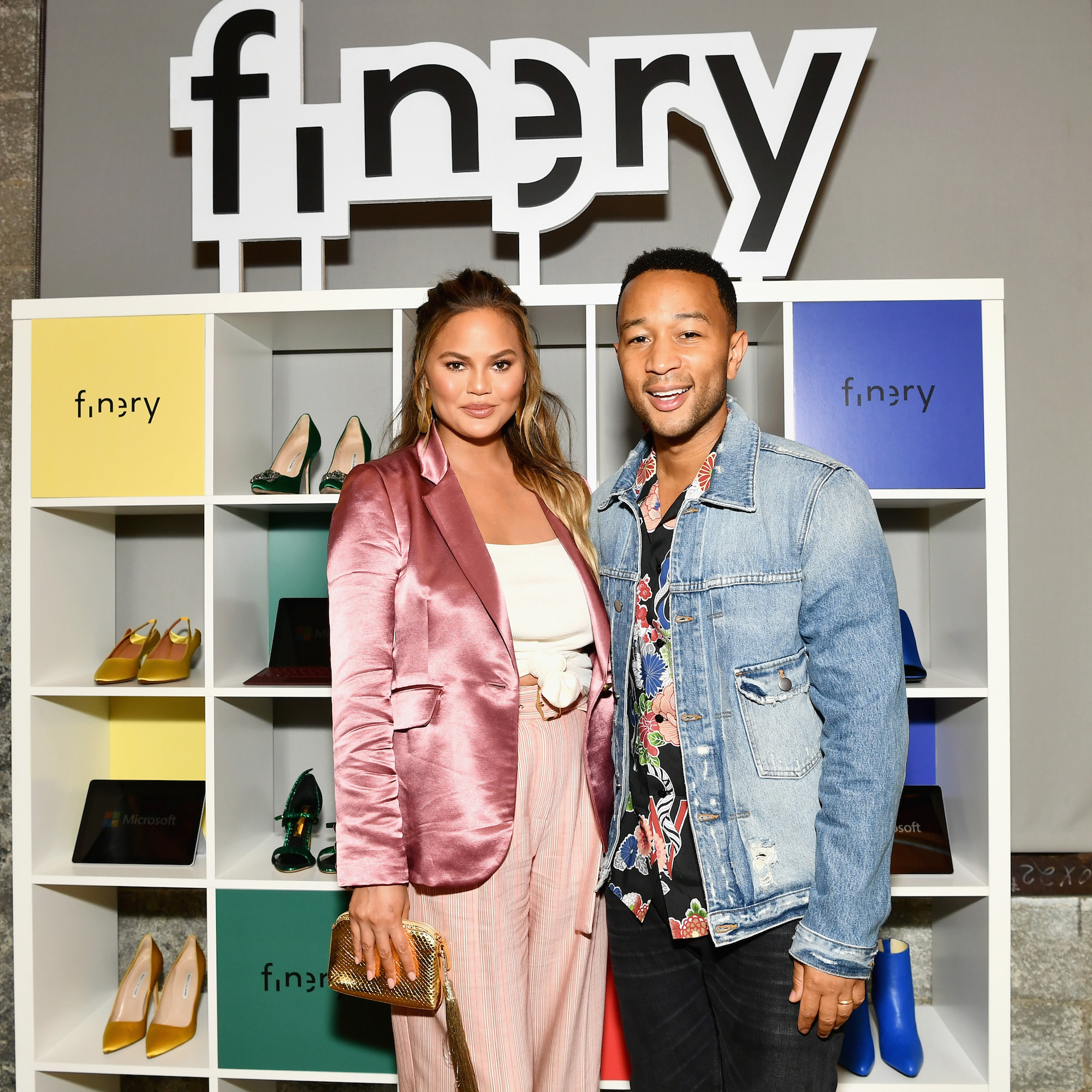 John Legend and Chrissy Teigen lead