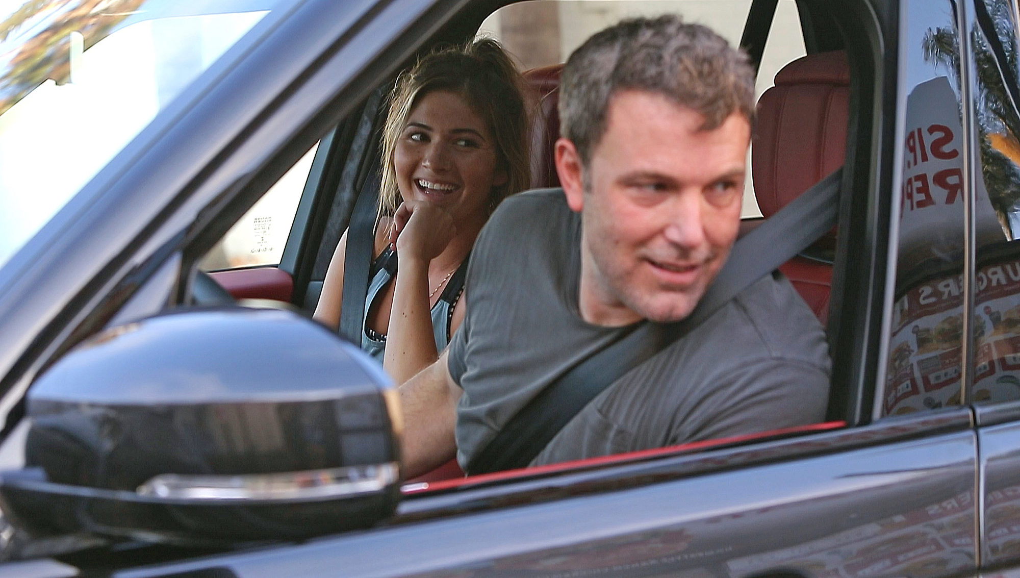 Ben Affleck and Shauna Sexton Drive-Thru - Embed 1