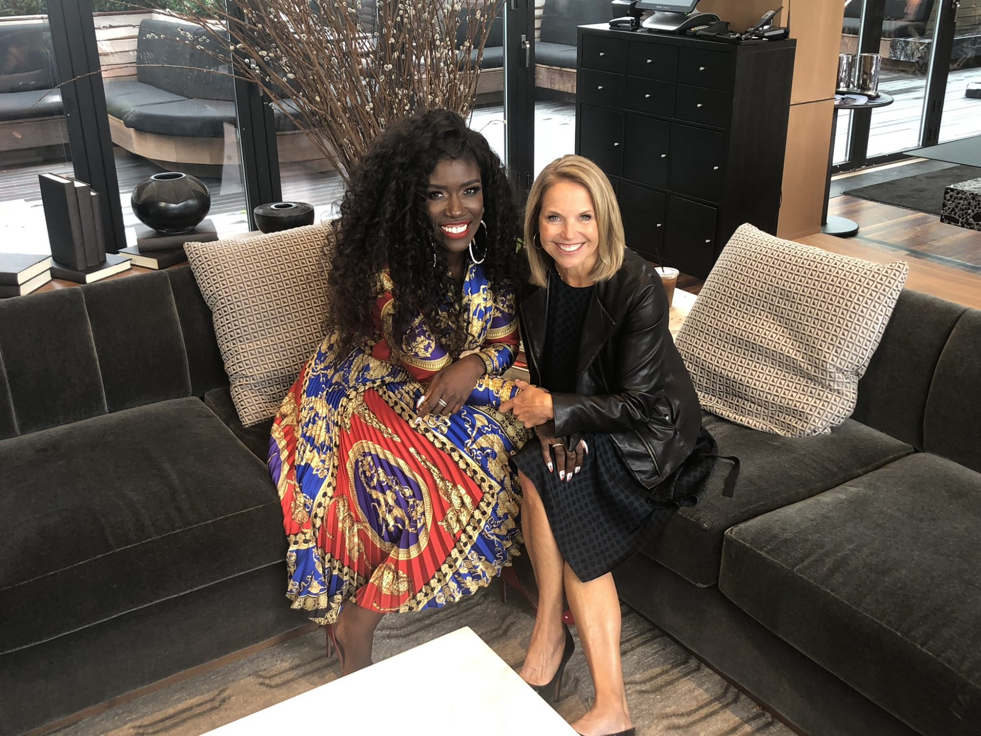 Bozoma Saint John and Katie Couric Skimm lead