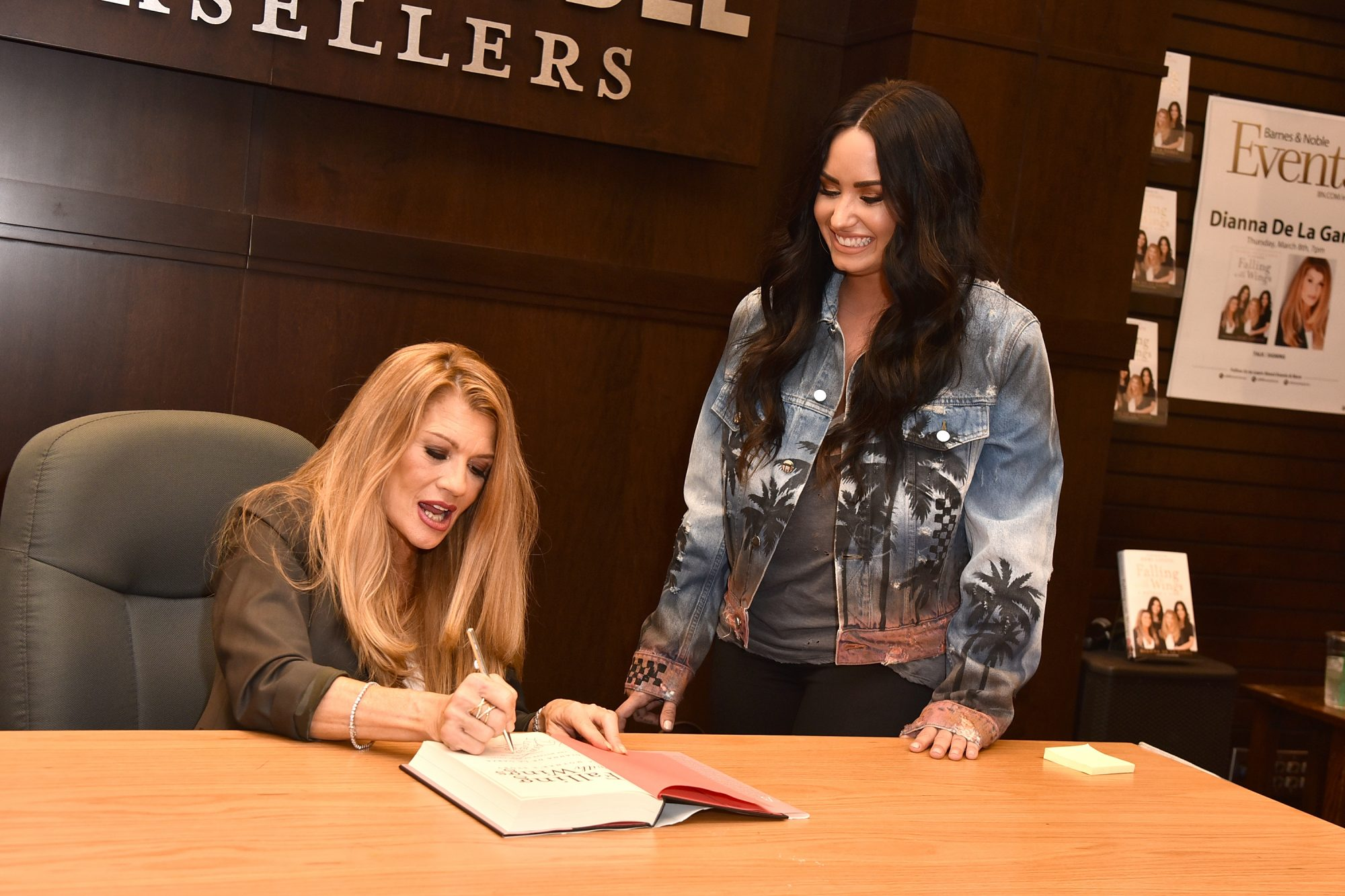 Dianna De La Garza Signs Copies Of Her New Book 'Falling with Wings'