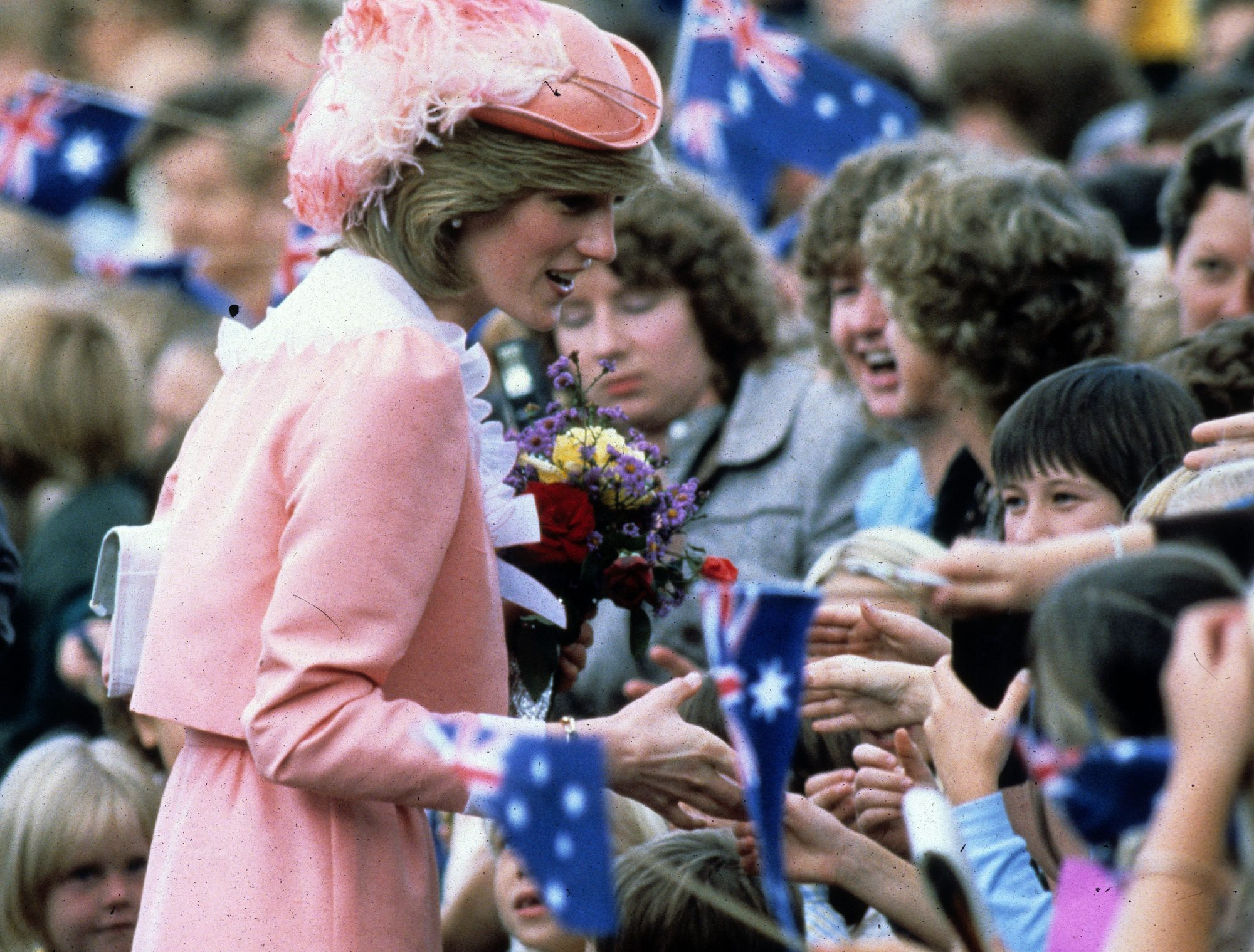 Prince Charles, Princess Diana and Prince William of Wales Visit to Australia and New Zealand 1983