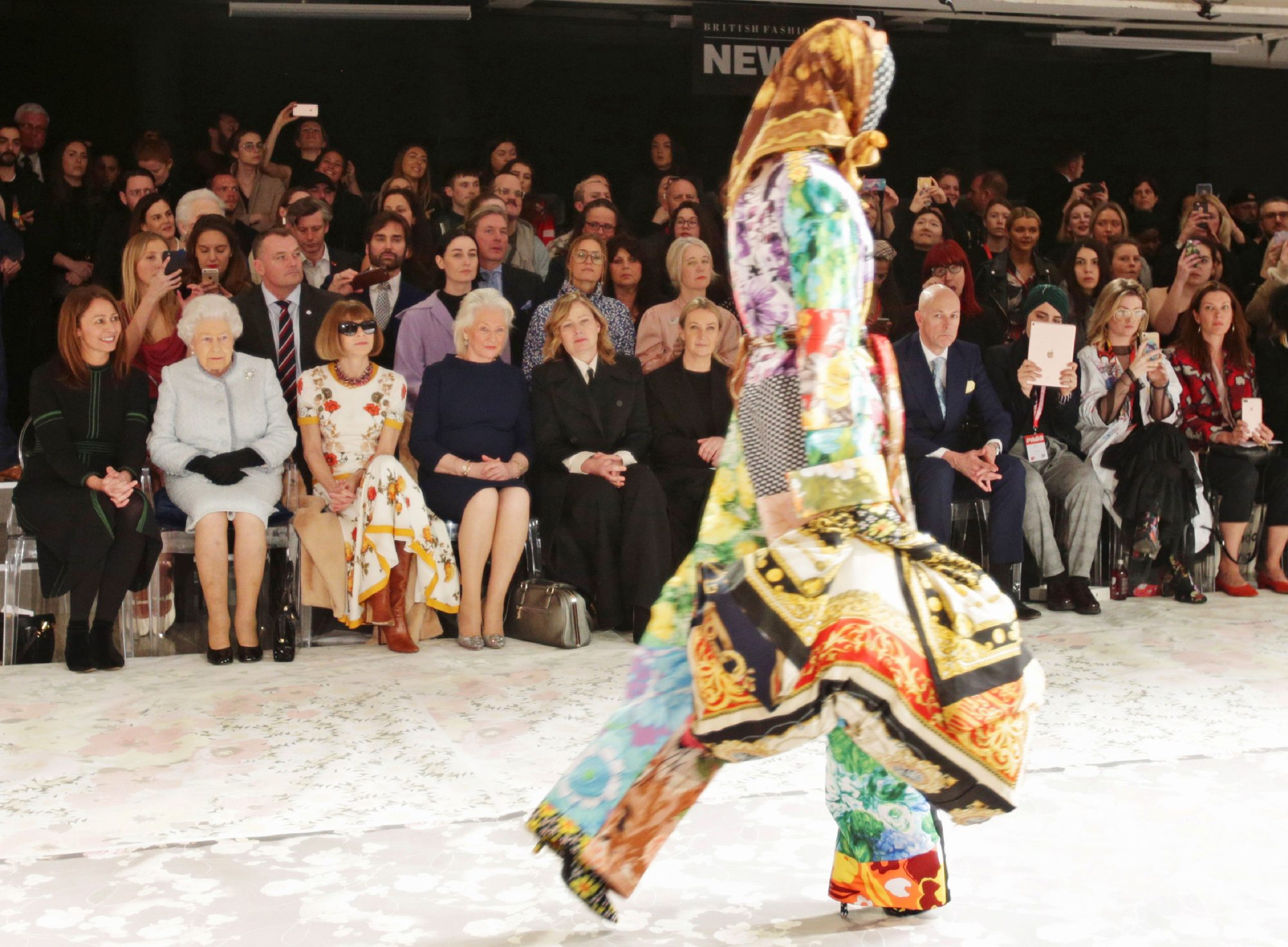 THE BIG BUZZ: NOW, THAT'S A FRONT ROW