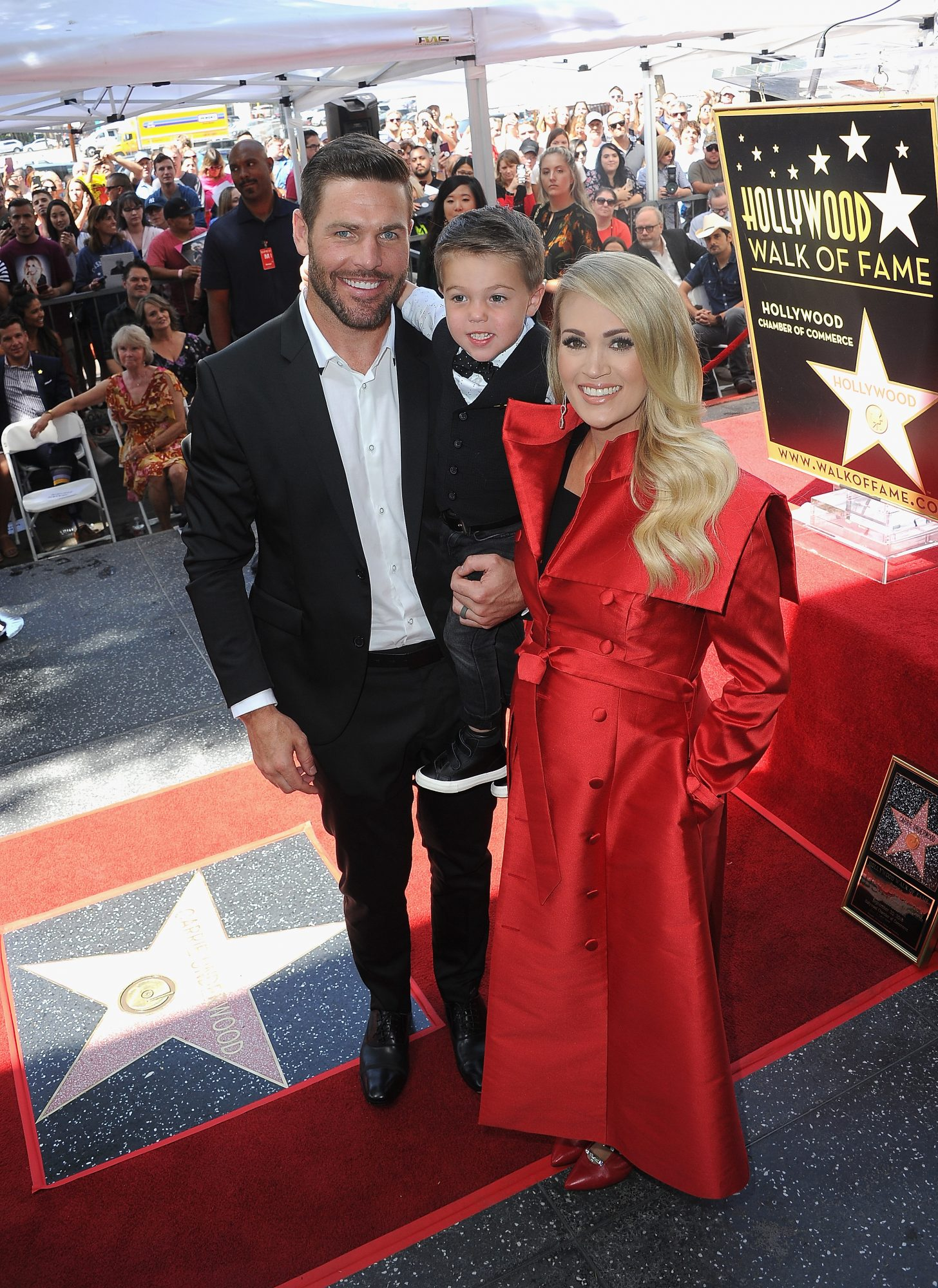 Carrie Underwood Honored With Star On The Hollywood Walk Of Fame