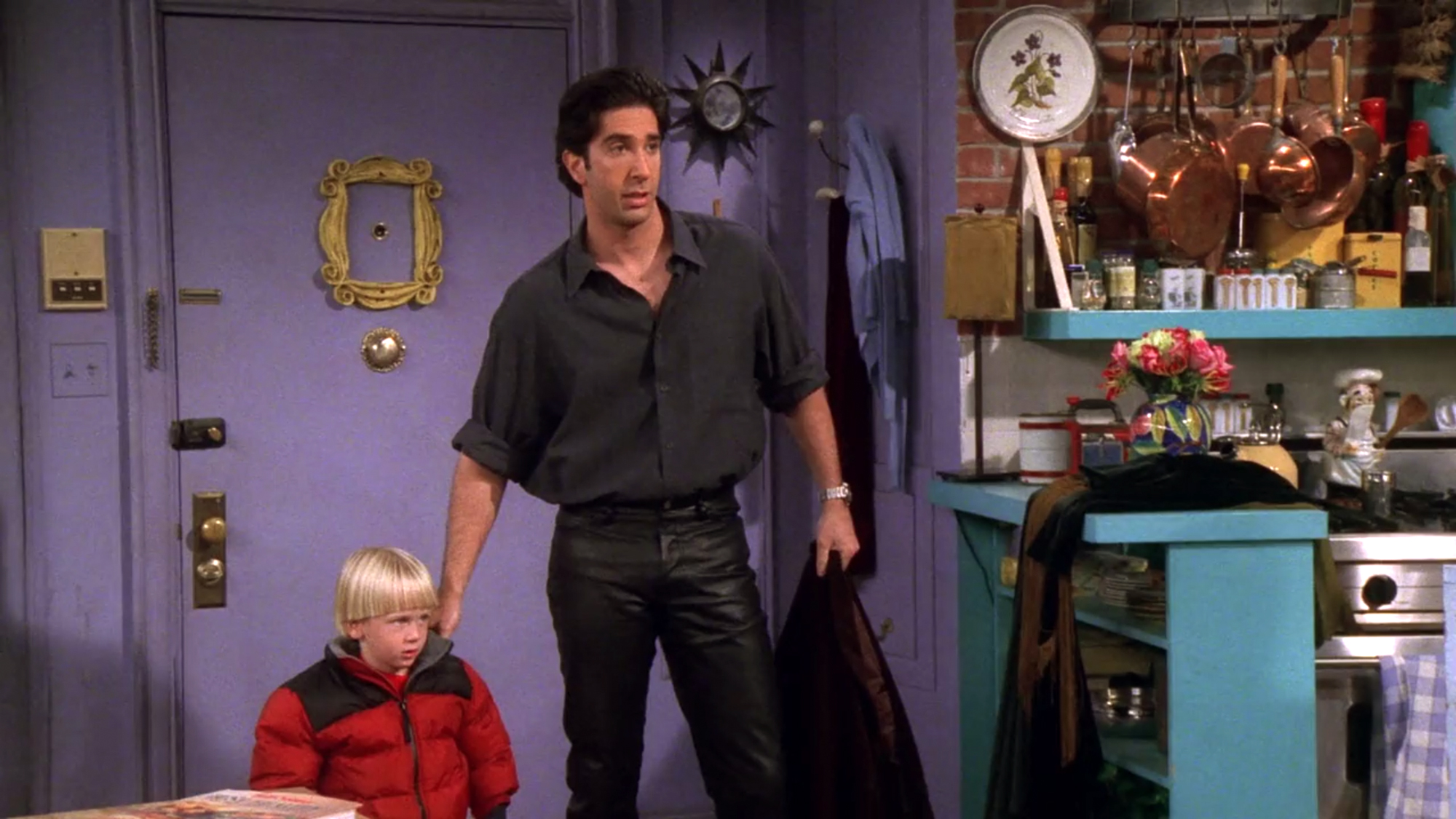 Ross on Friends