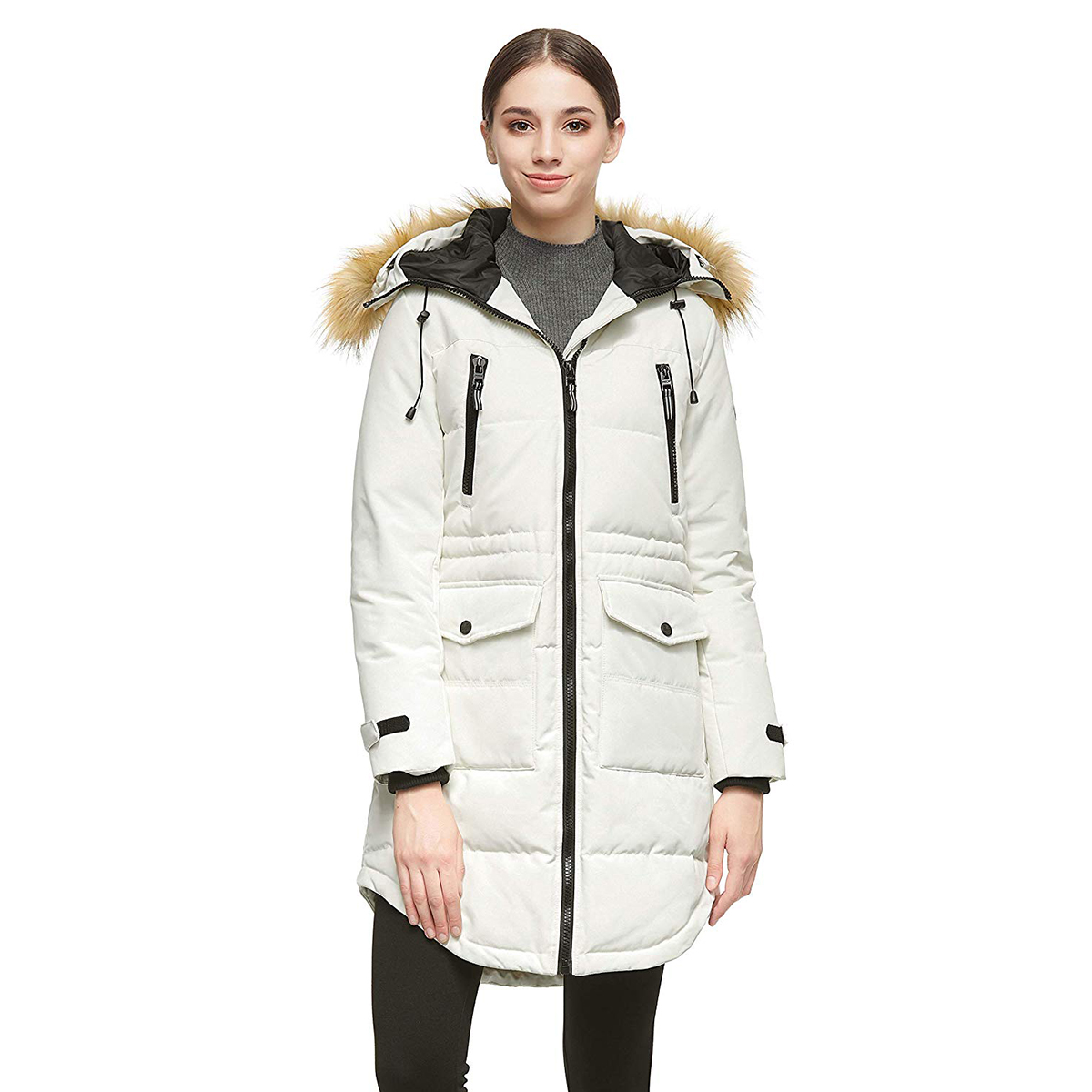 Orolay Women's Thickened Down Jacket Winter Warm Down Coat