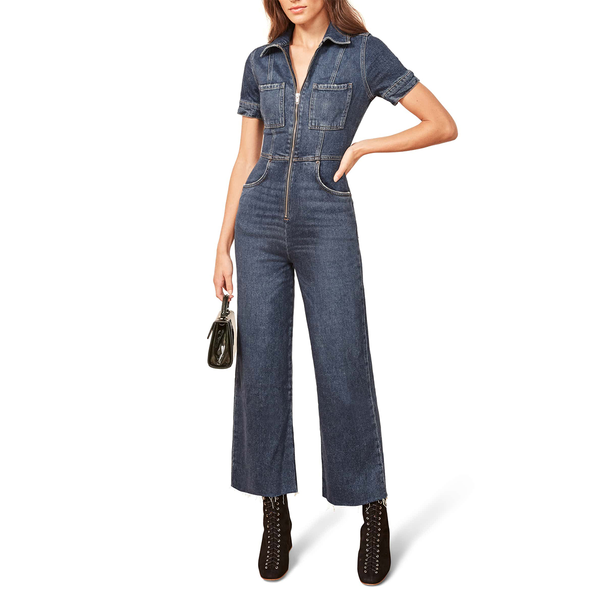 Reformation Georgia Jumpsuit