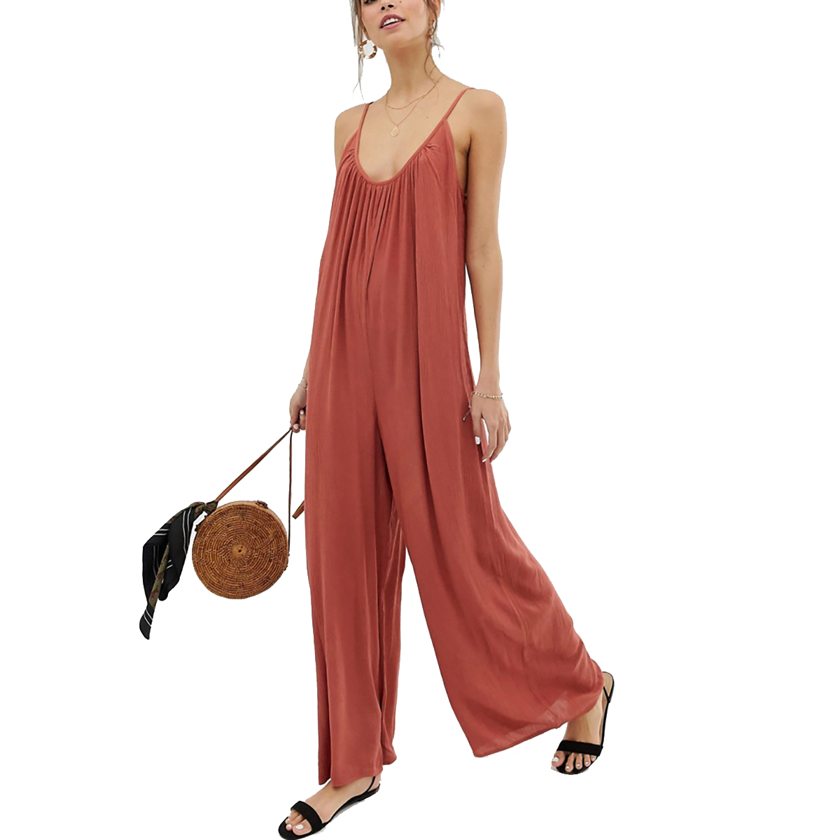 ASOS Design Low Back Jumpsuit