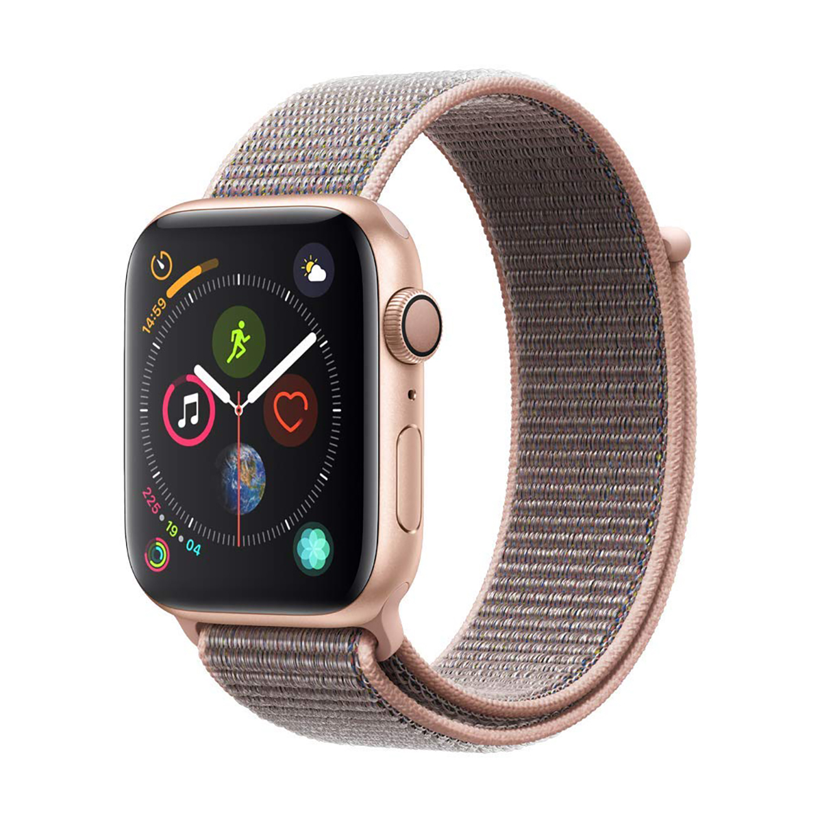 Best Smart Option: Apple Watch Series 4 With Pink Sand Sport Band