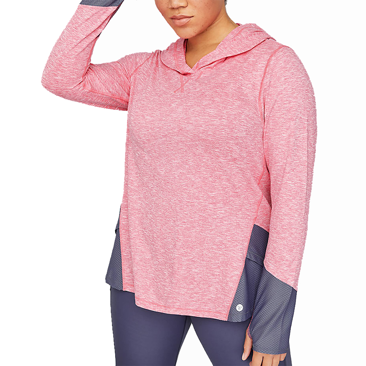 Lane Bryant Wicking Active Hooded Pullover