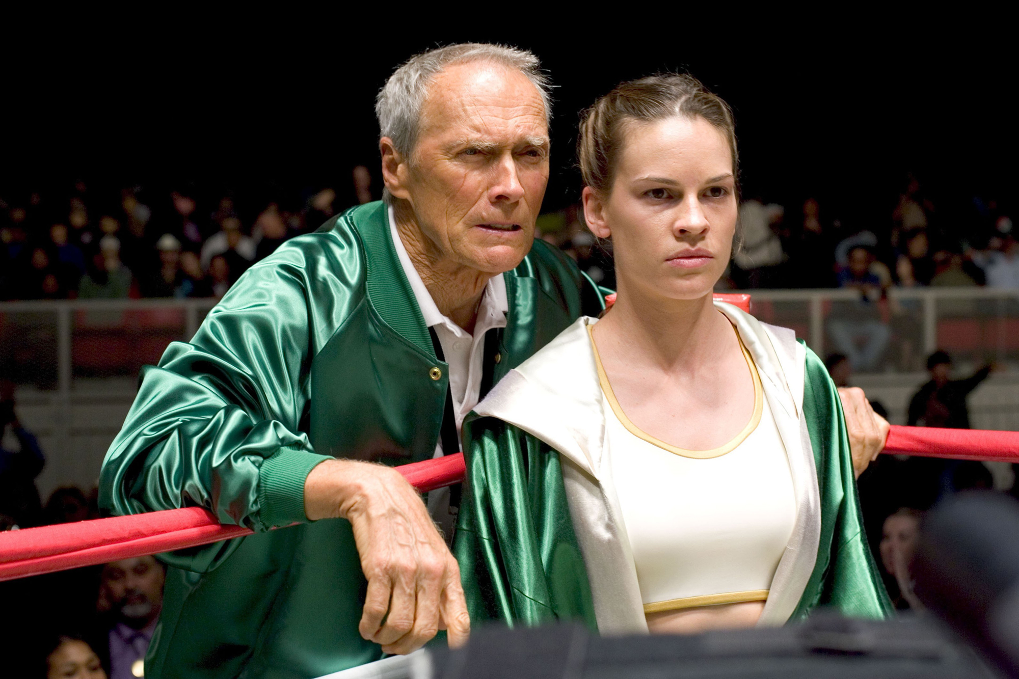still from Million Dollar Baby