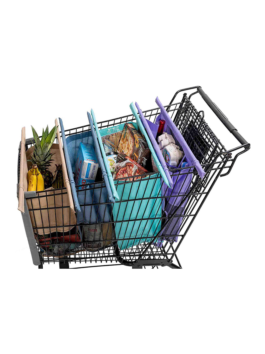 Reusable Grocery Trolley Bags and Cart Totes