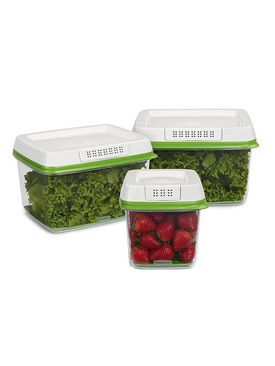 Rubbermaid FreshWorks Produce Saver and Food Storage Containers