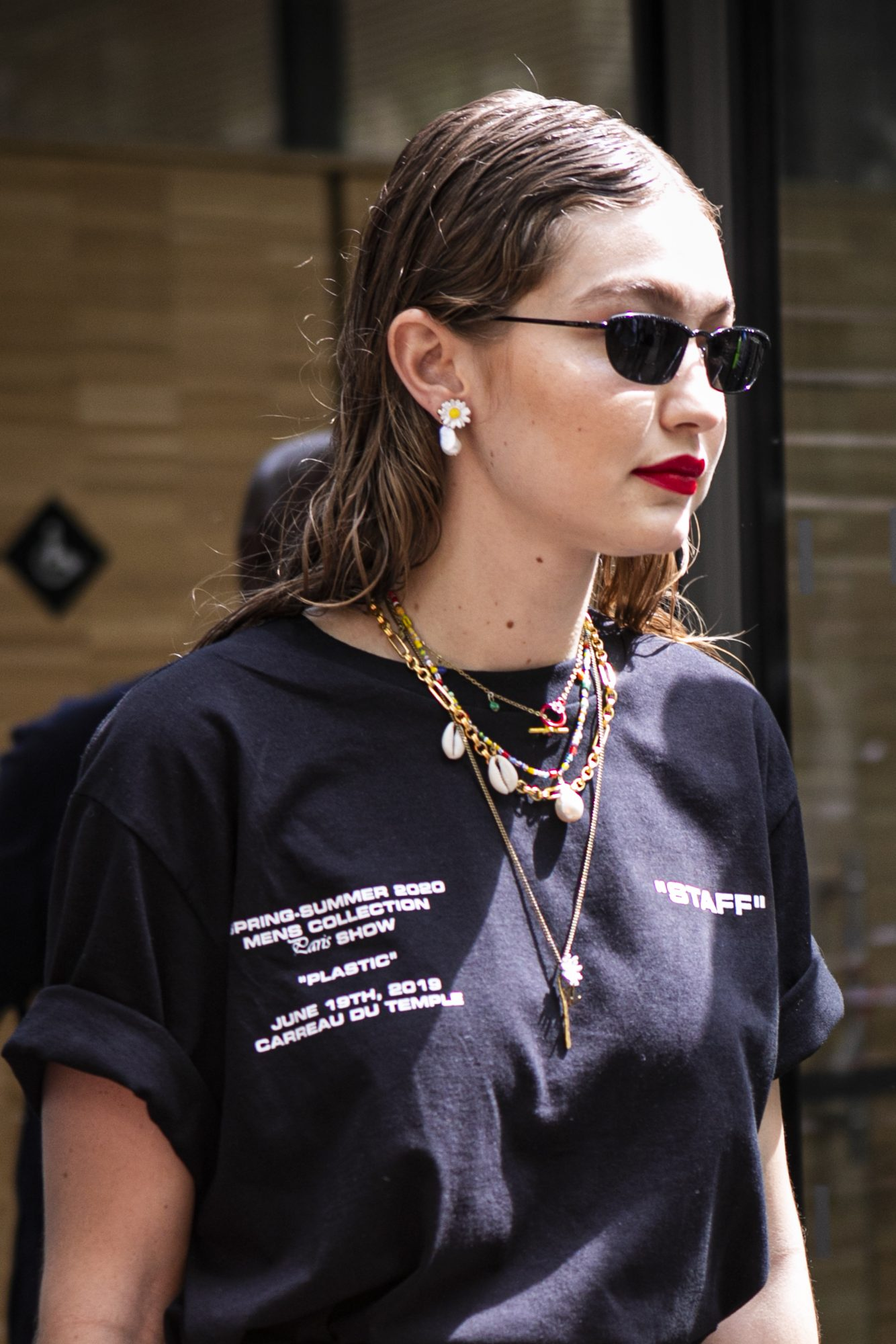 Street Style : Paris Fashion Week - Menswear Spring/Summer 2020 : Day Two