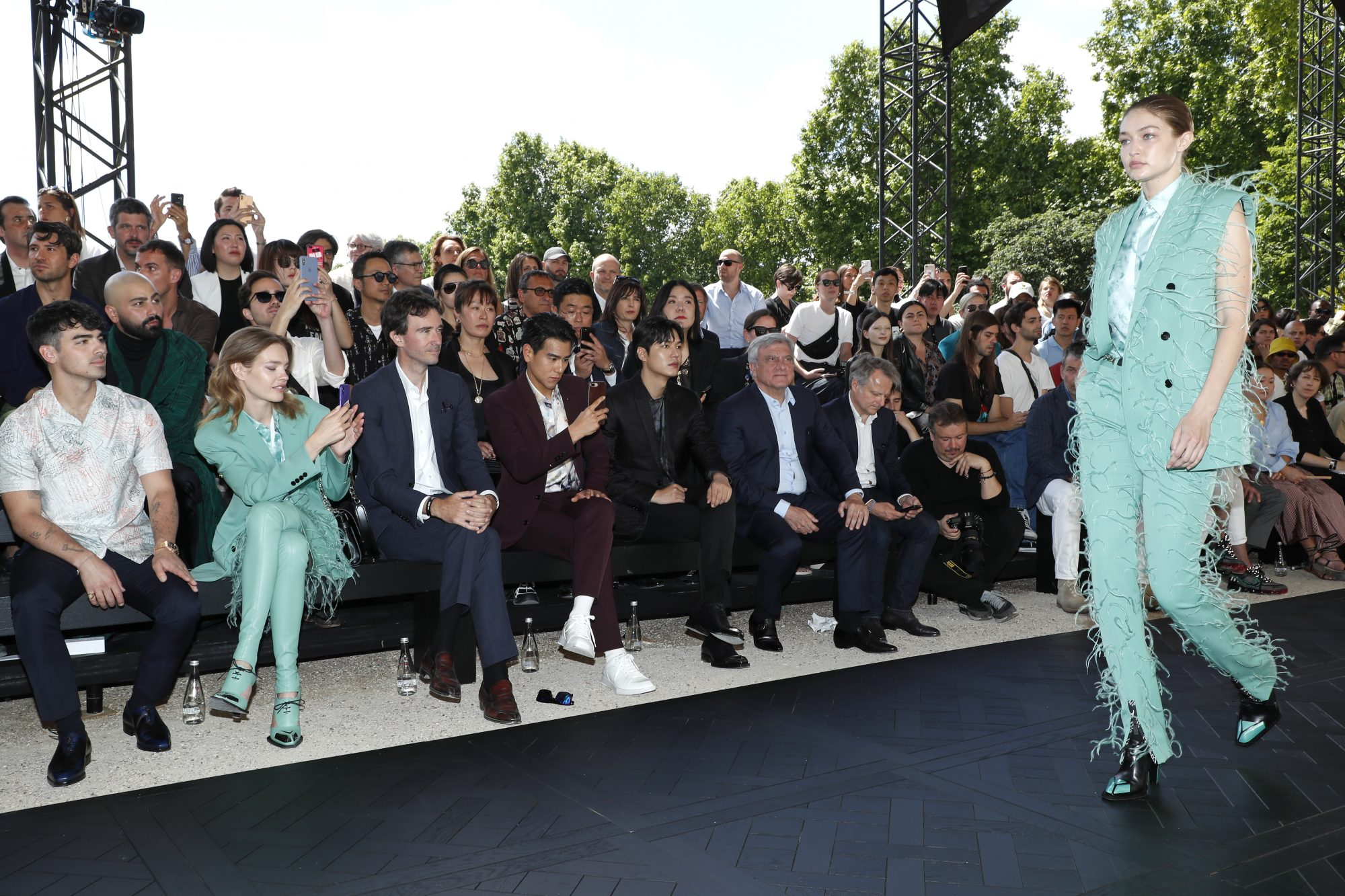 Berluti : Front Row - Paris Fashion Week - Menswear Spring/Summer 2020