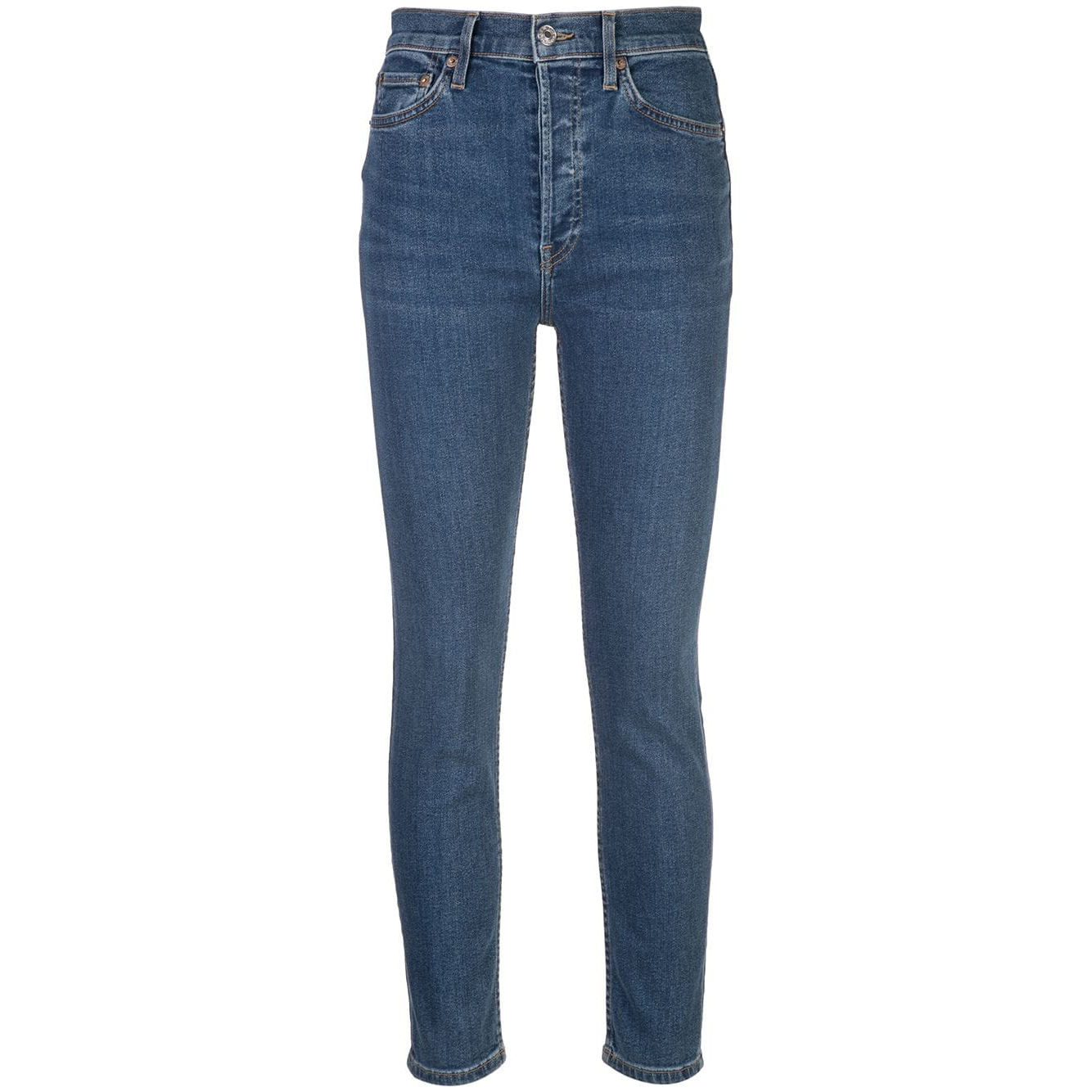 Re/Done High Rise Skinny Jeans