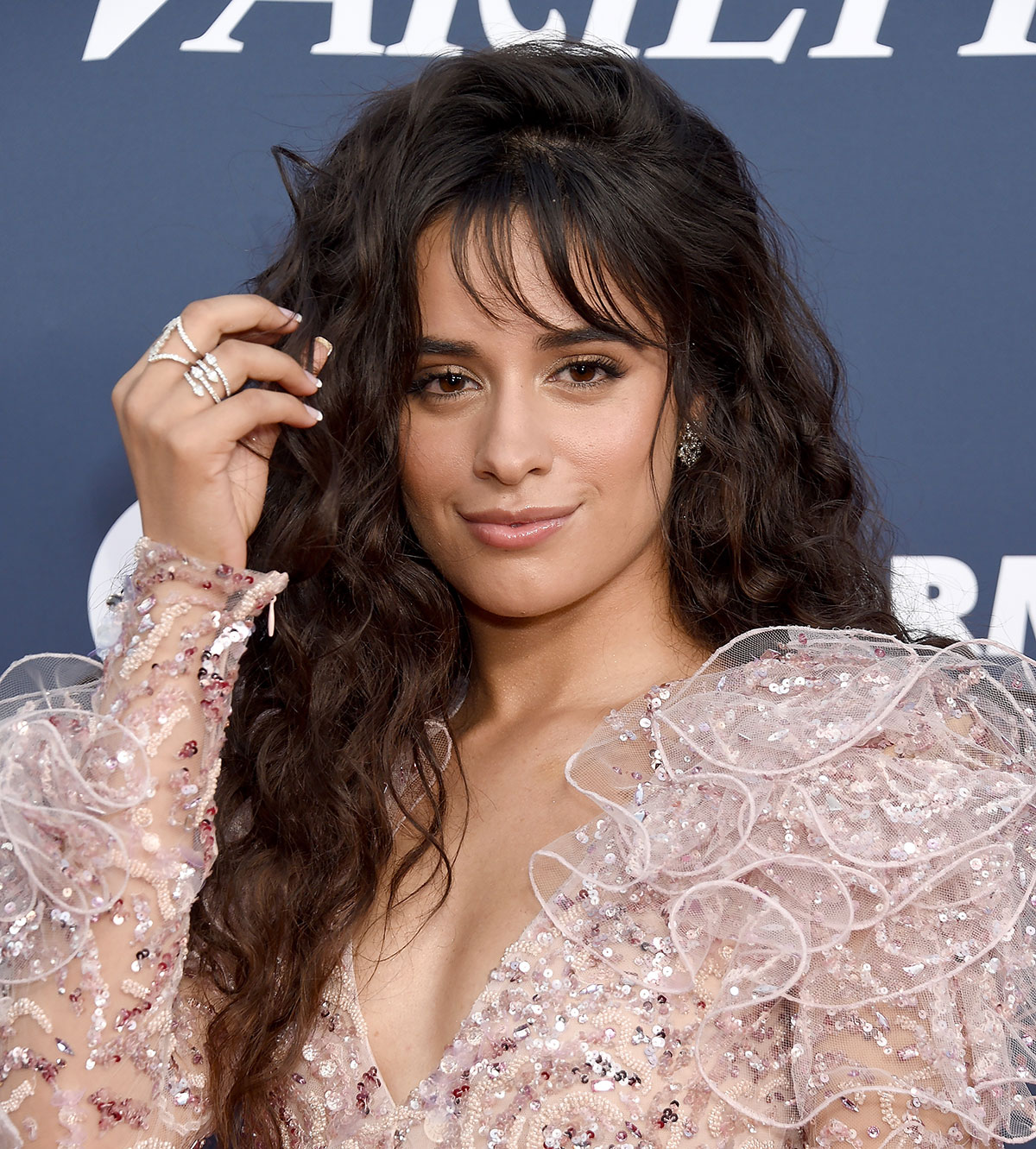 Camila Cabello's Almond-Shaped French Tips