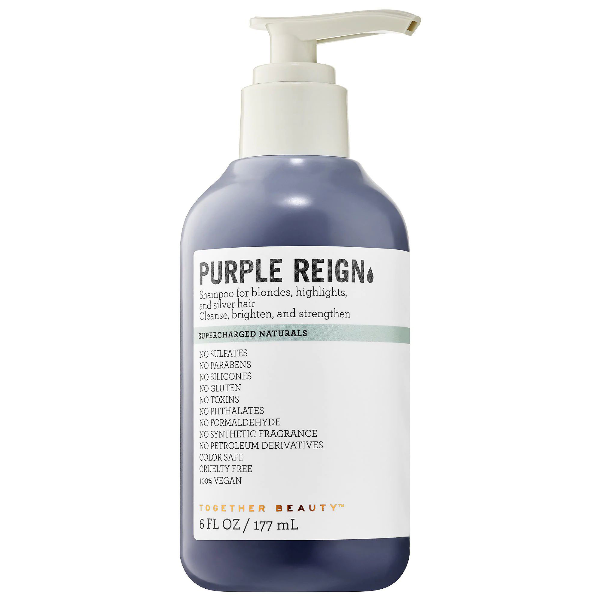 For Blonde Hair: Together Beauty Purple Reign Shampoo