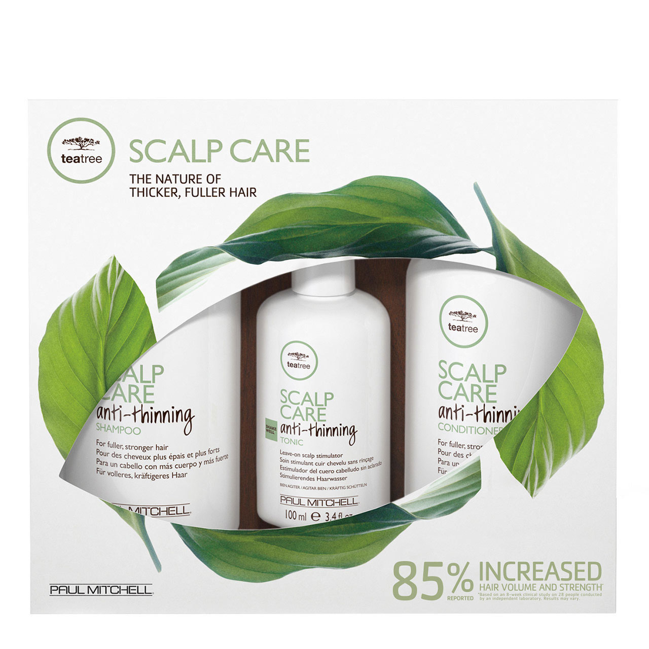 Paul Mitchell's Tea Tree Scalp Care Anti-Thinning Regimen Kit