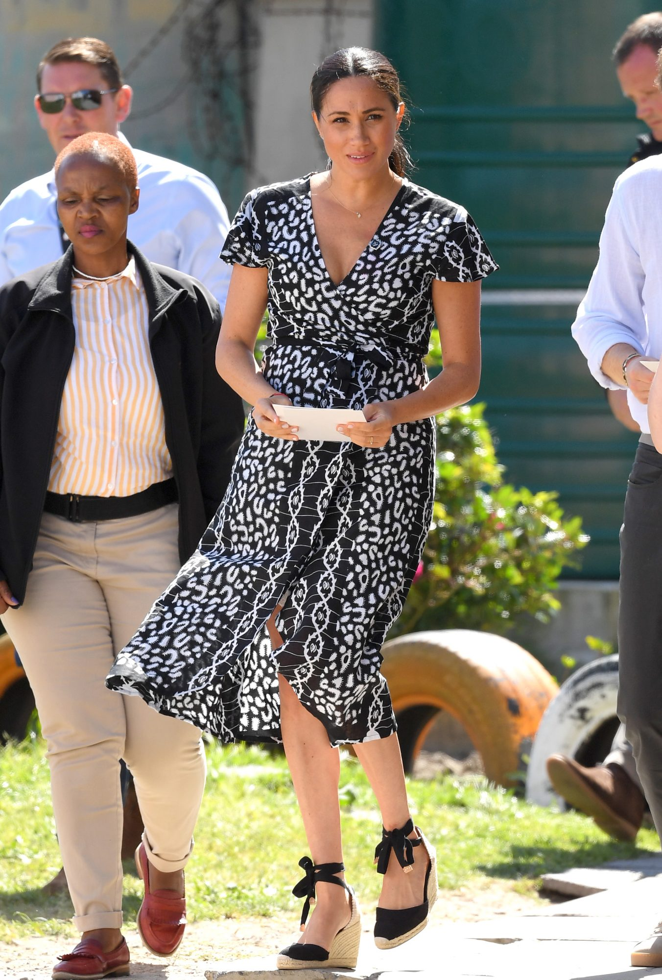 Meghan Markle Wrap Dress