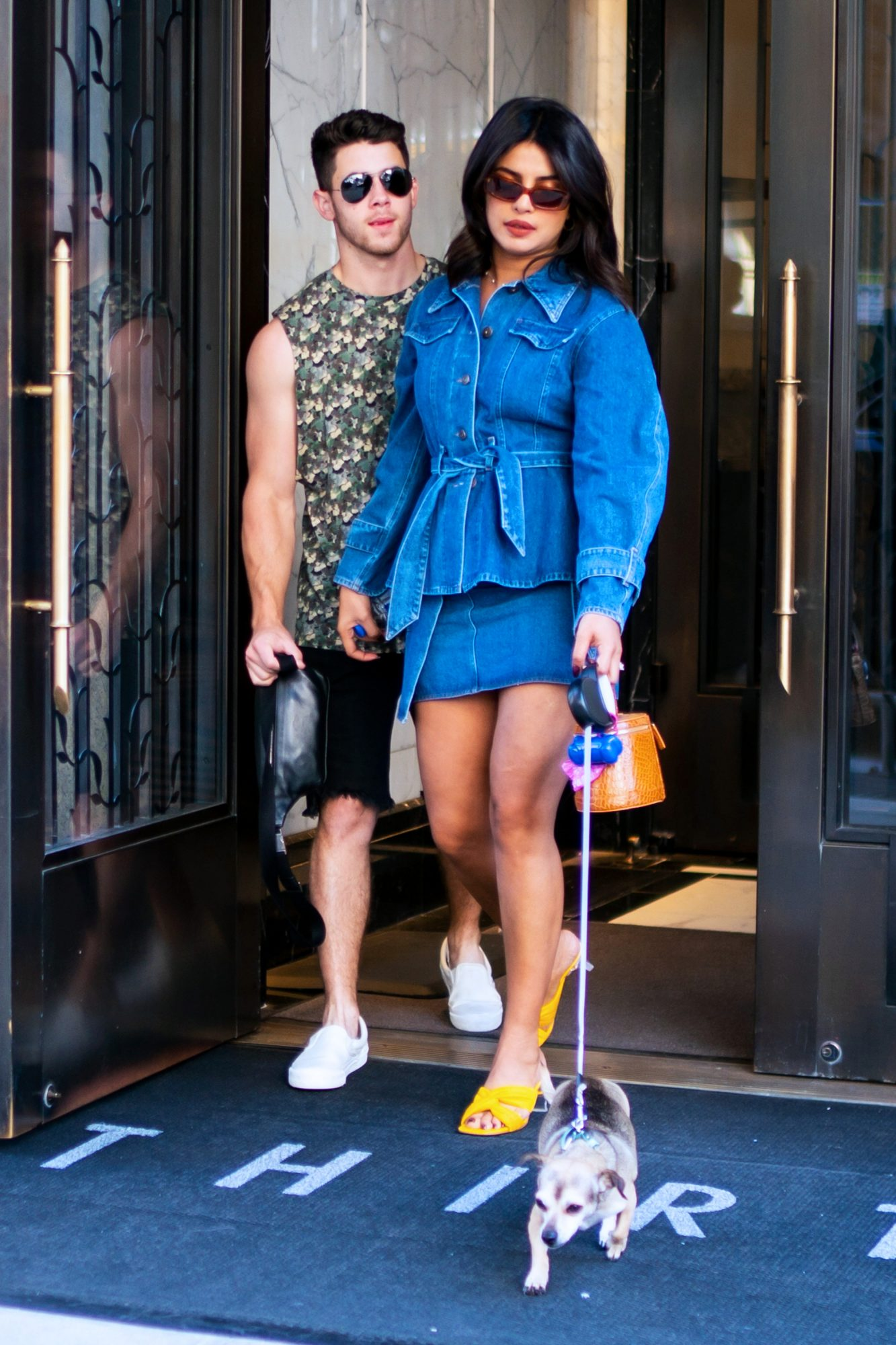 TK Times Nick Jonas and Priyanka Chopra Schooled Us in Couple Style