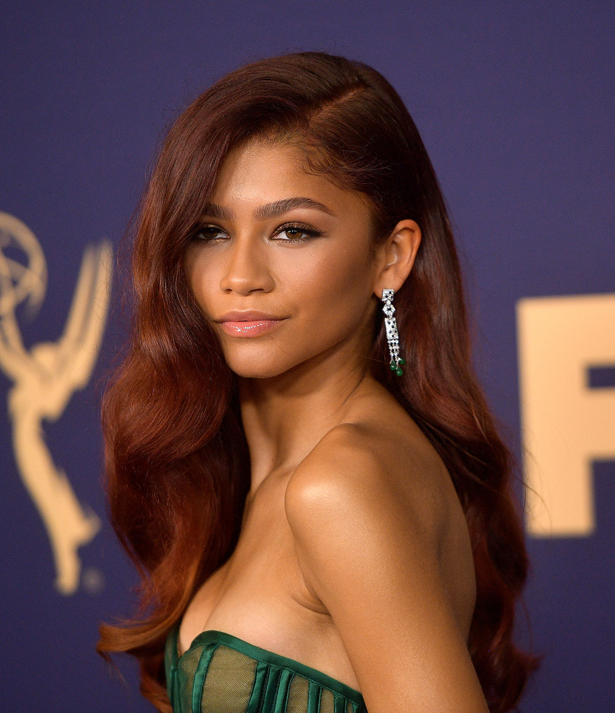 Zendaya's Glam Waves