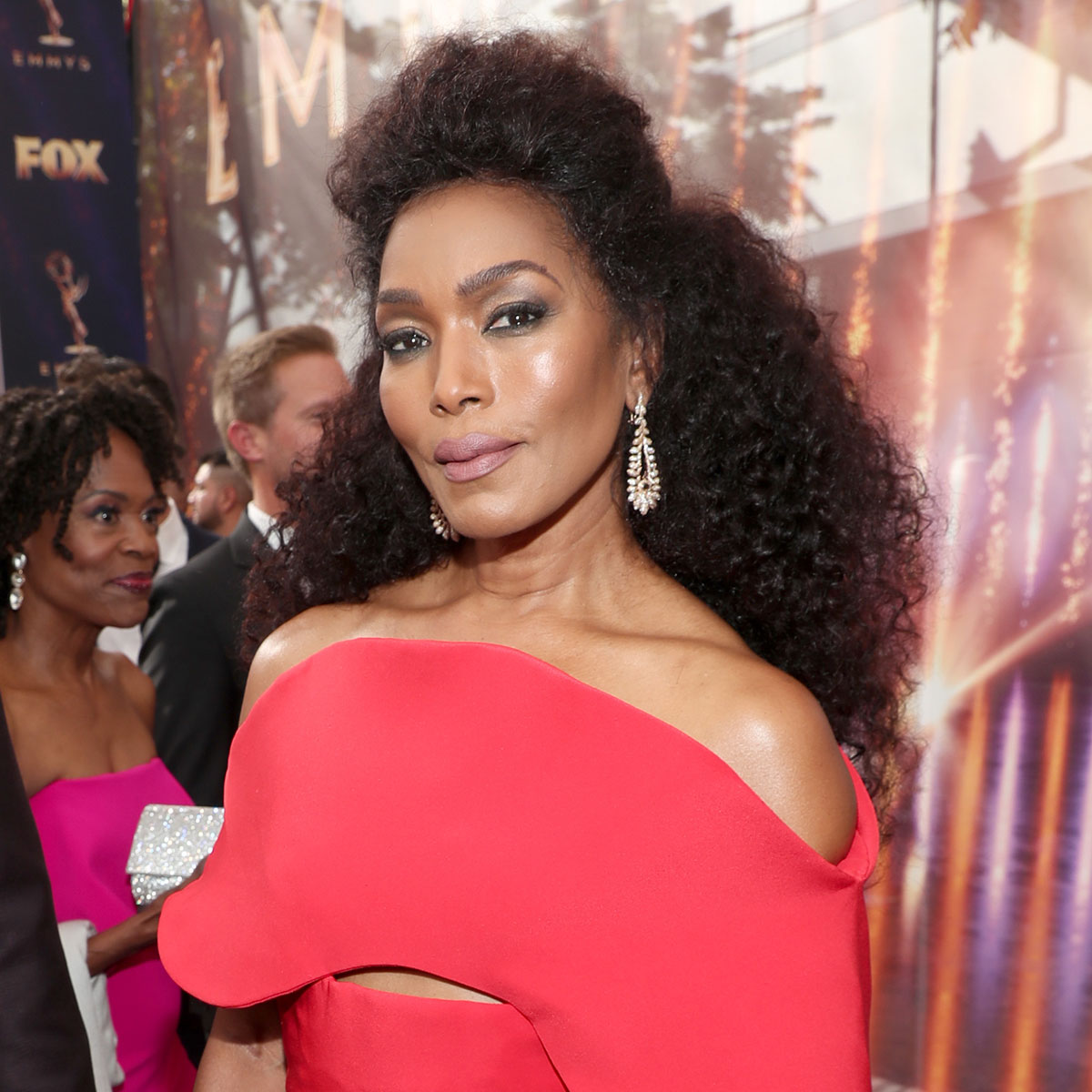 Angela Bassett's Natural Curls