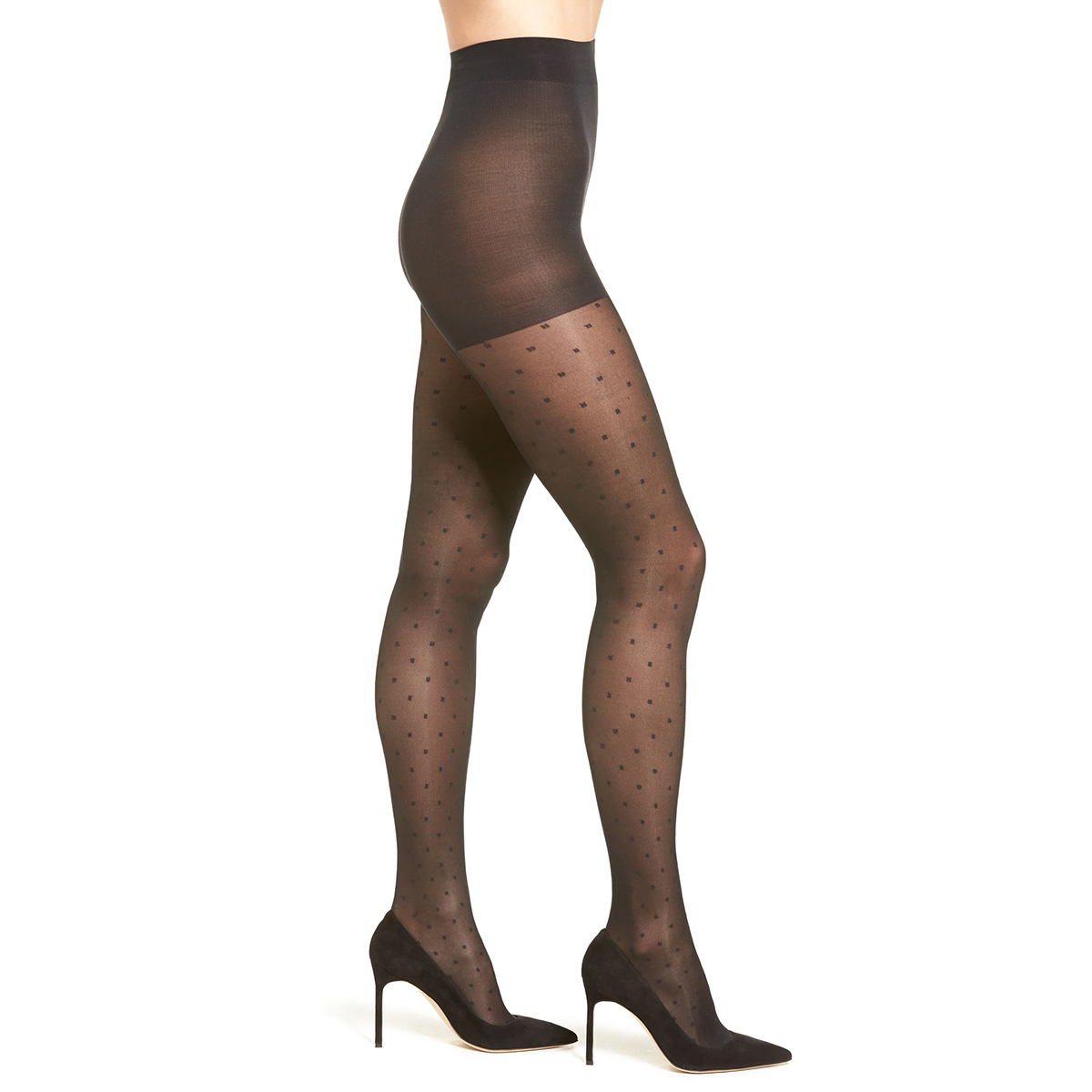 Calzedonia Womens Sheer Polka Dot Tights