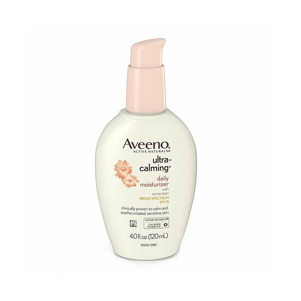 Best Moisturizer for Sensitive Skin: Aveeno Ultra-Calming Moisturizer SPF 15