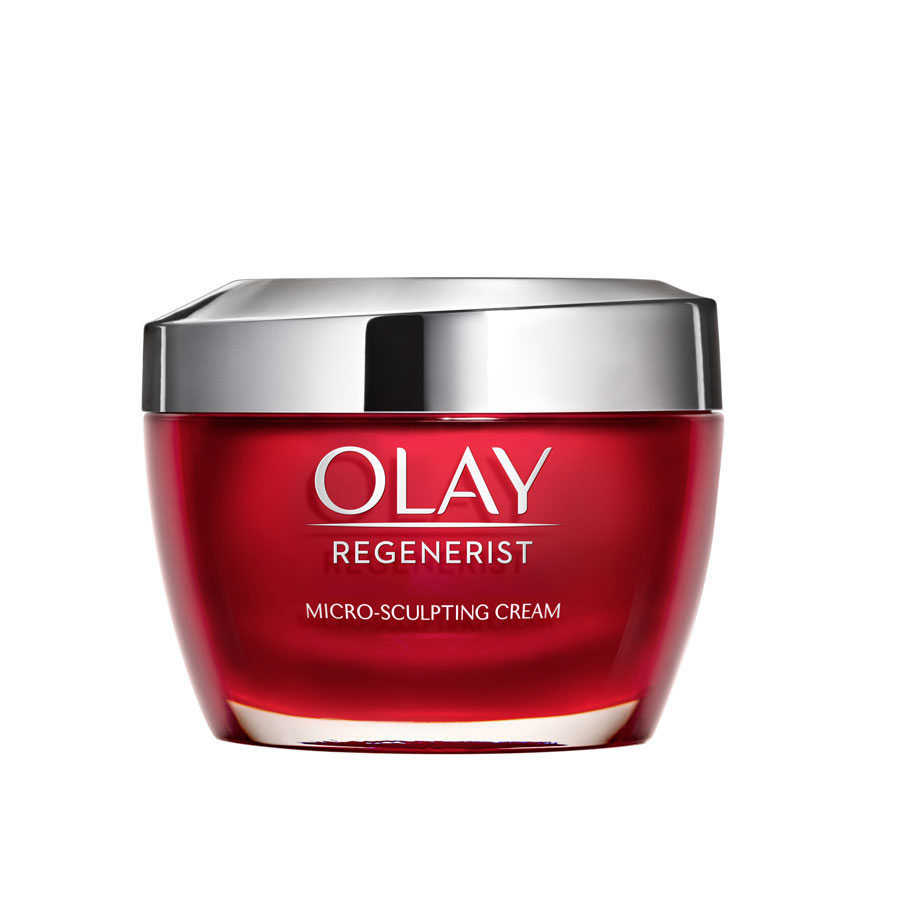Best Moisturizer for All Skin Types: Olay Regenerist Micro-Sculpting Cream Face Moisturizer