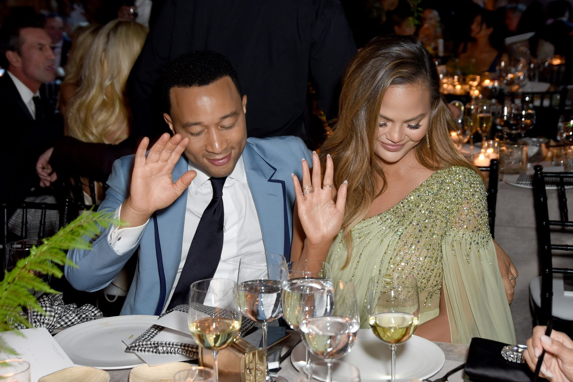 Chrissy Teigen Thanksgiving Plans