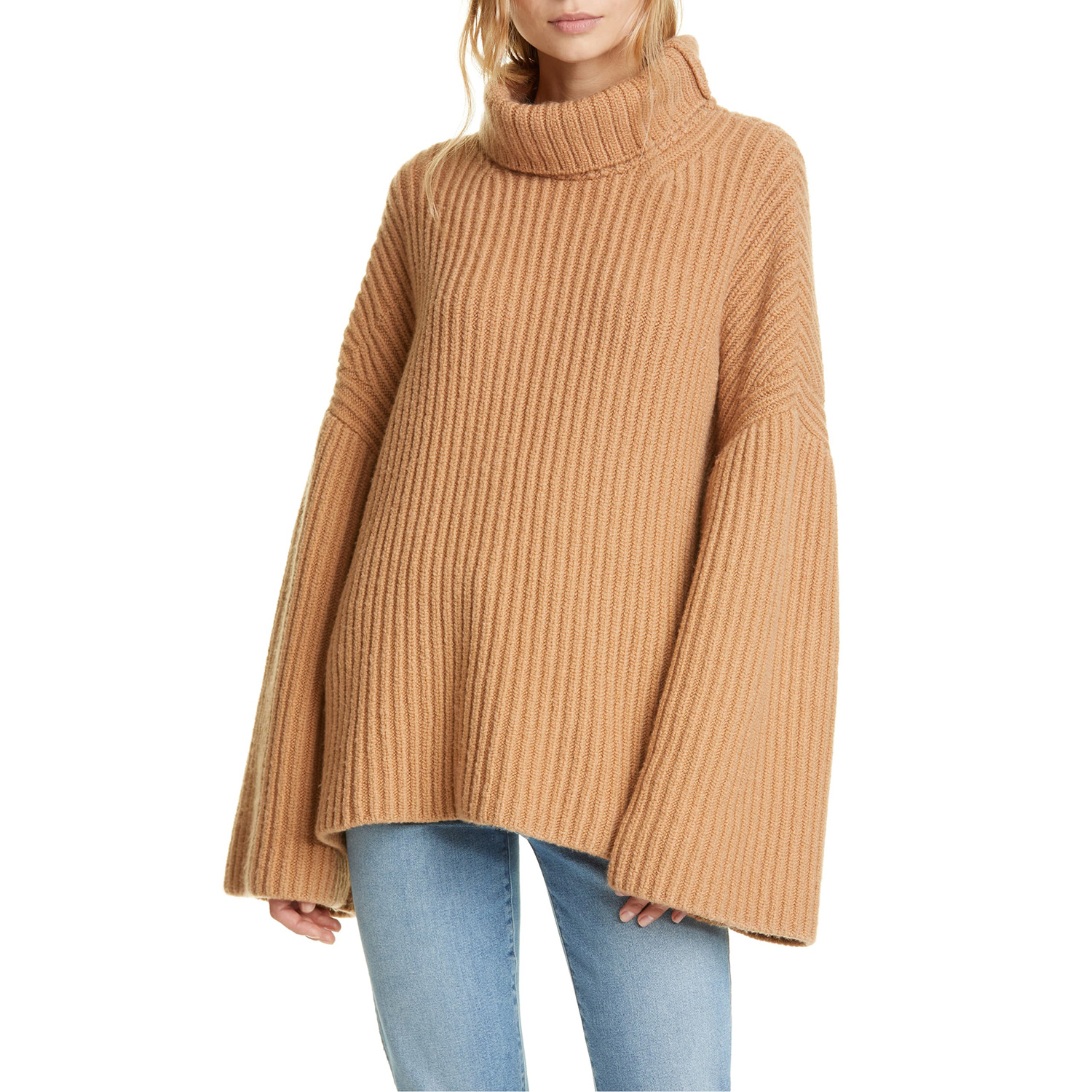 Nanushka Turtleneck Wool Blend Sweater