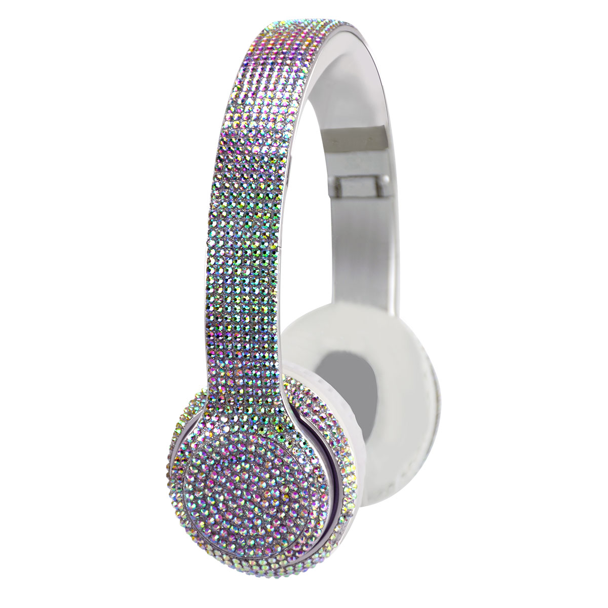Wireless Express Bluetooth Iridescent Bling Headphones