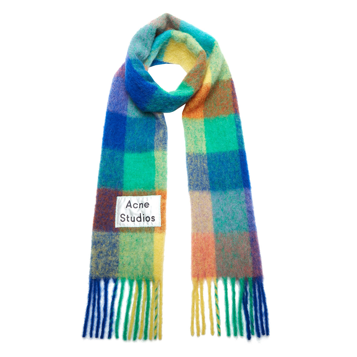 Acne Multi-Check Scarf