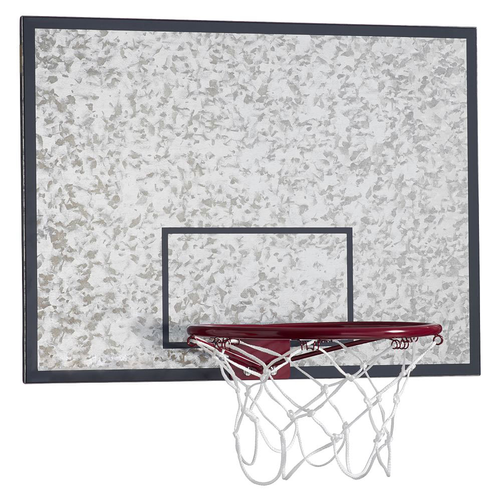 Pottery Barn Teen Galvanized Basketball Hoop And Dry-Erase Board