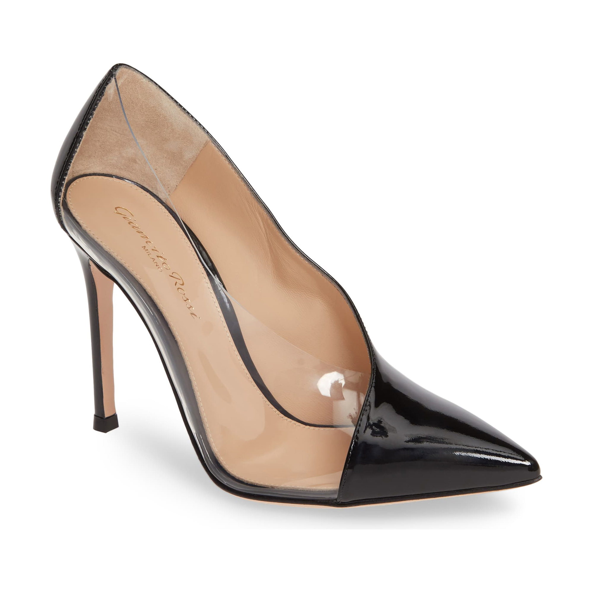 Gianvito Rossi Clear Sided Pump