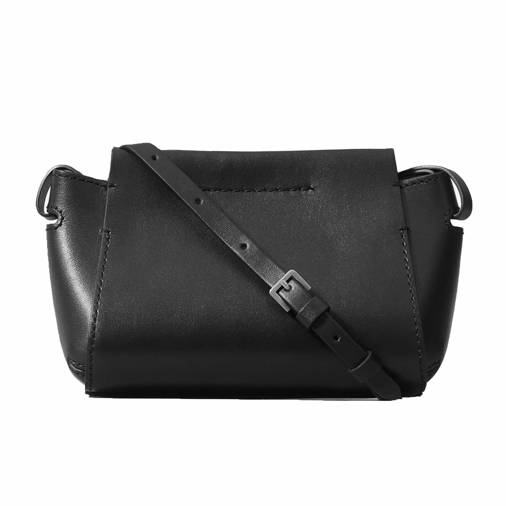 The Micro Form Bag in Black