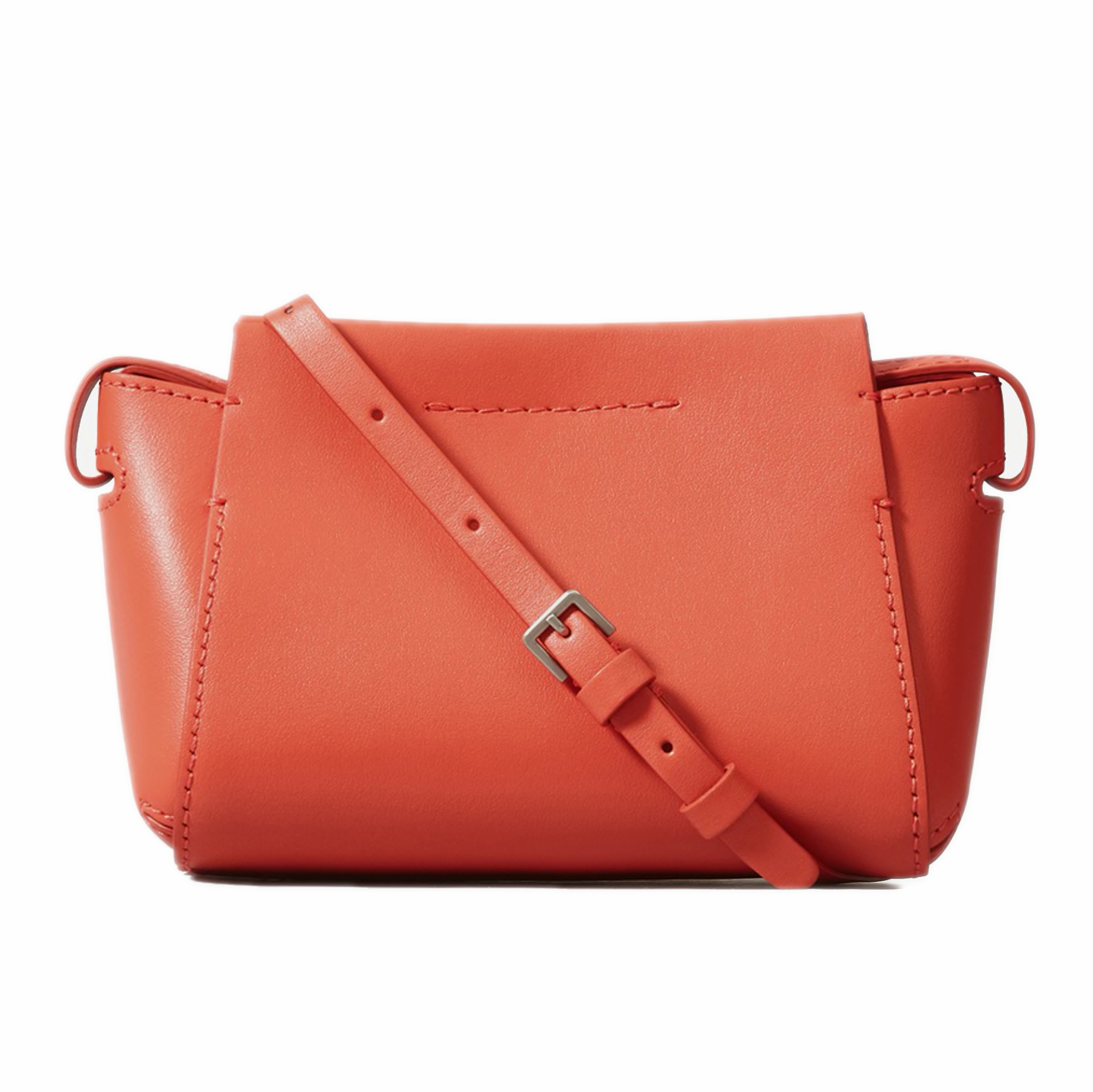 The Micro Form Bag in Coral