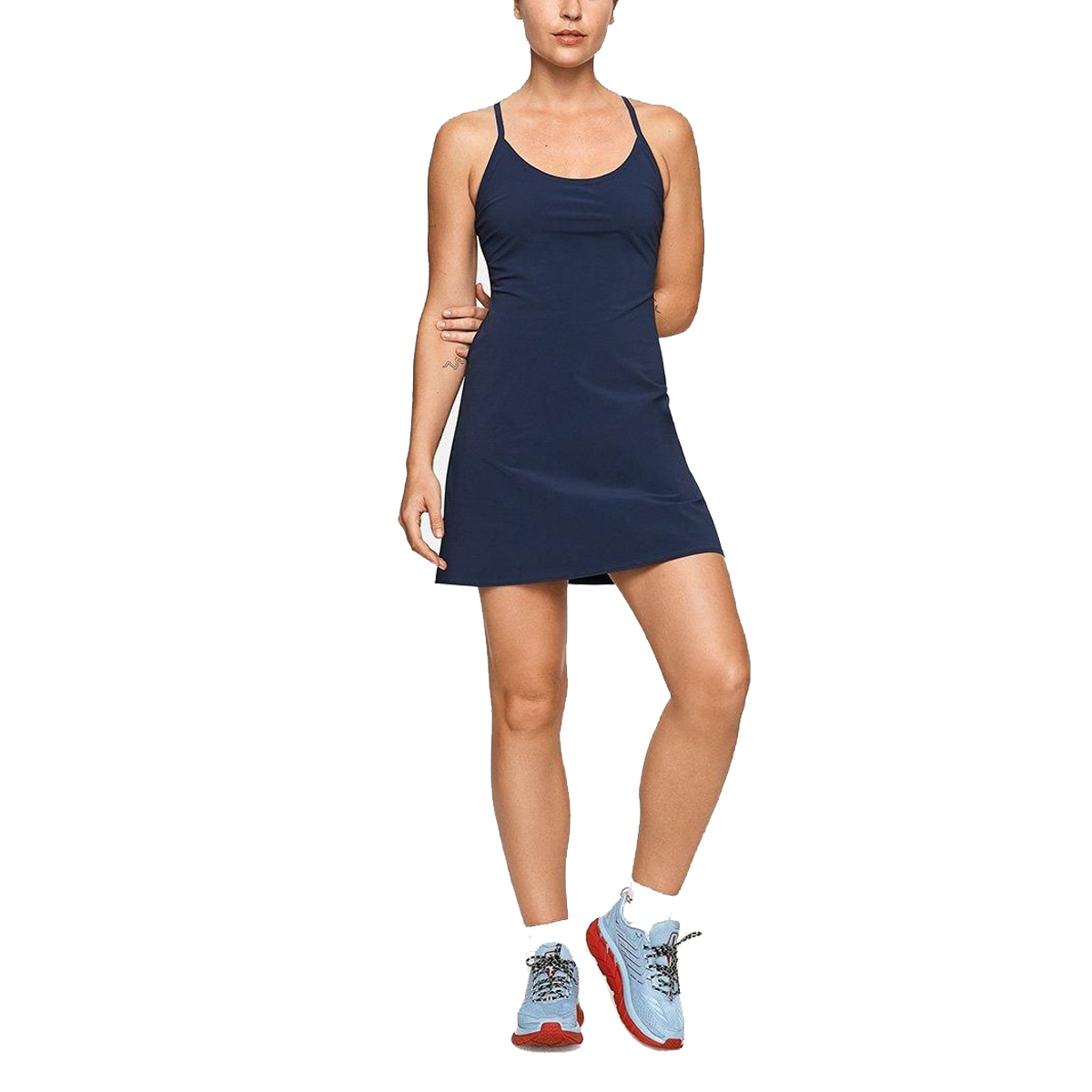 Outdoor Voices The Exercise Dress in Navy