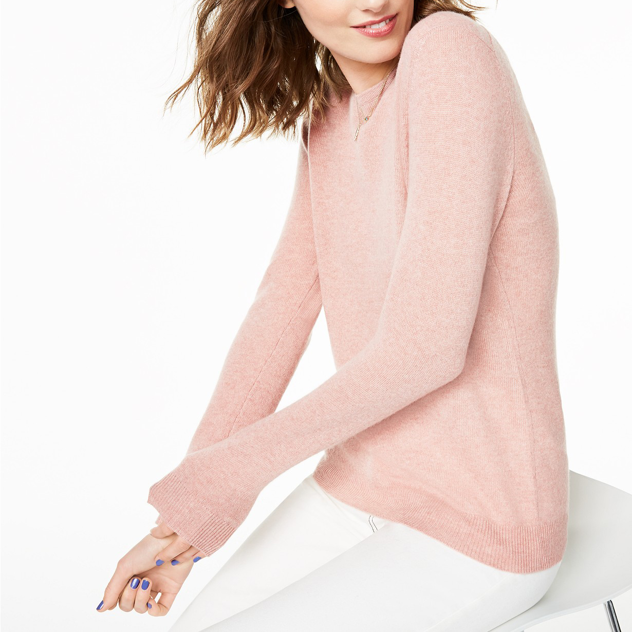 Charter Club Crew-Neck Cashmere Sweater