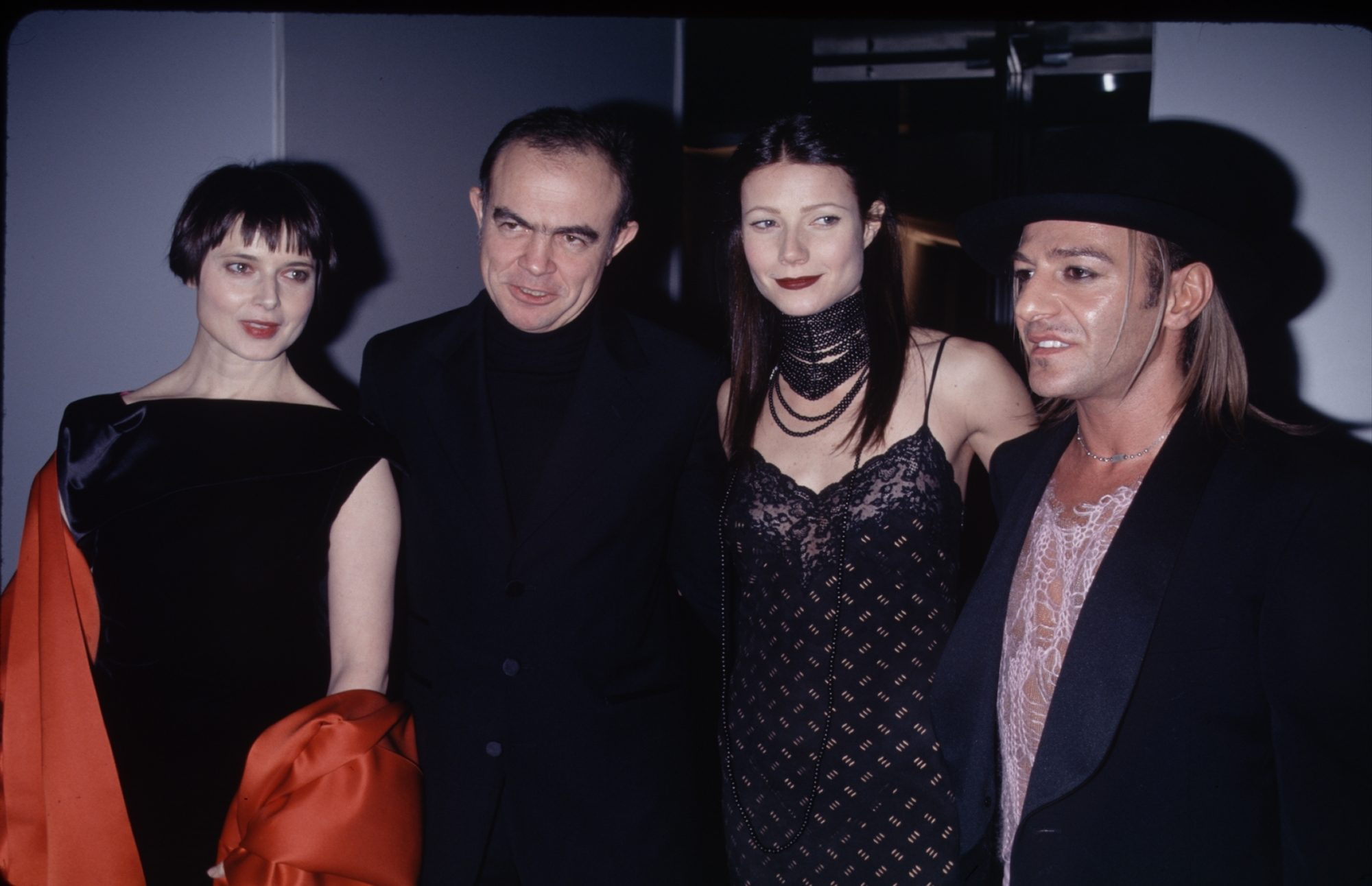 Remember When Gwyneth Paltrow Went Goth?