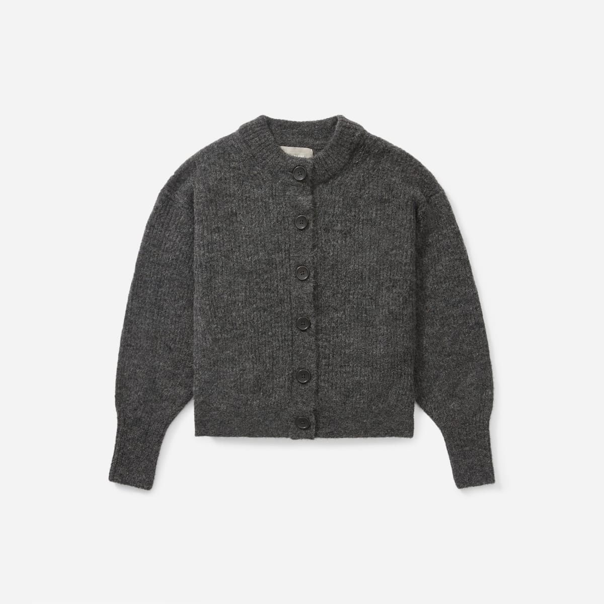 Everlane Alpaca Cropped Cardigan
