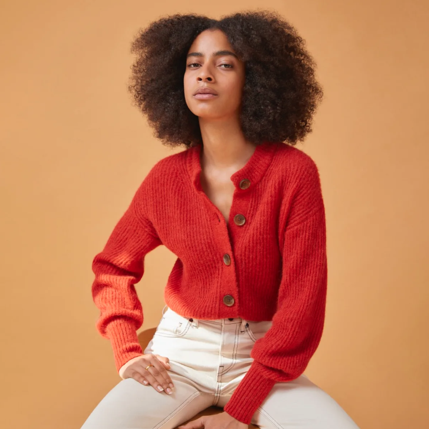 Everlane Alpaca Cropped Cardigan Review
