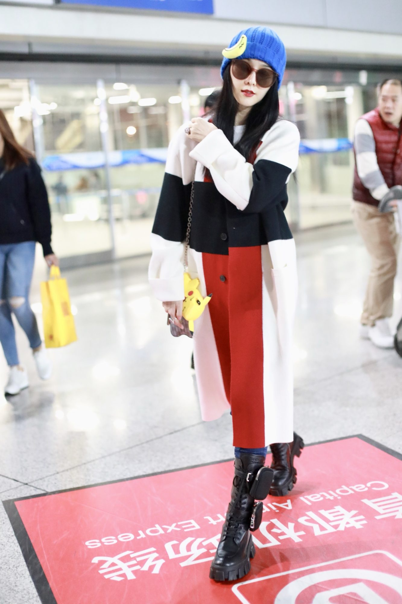 Fan Bingbing Wearing Prada Boots