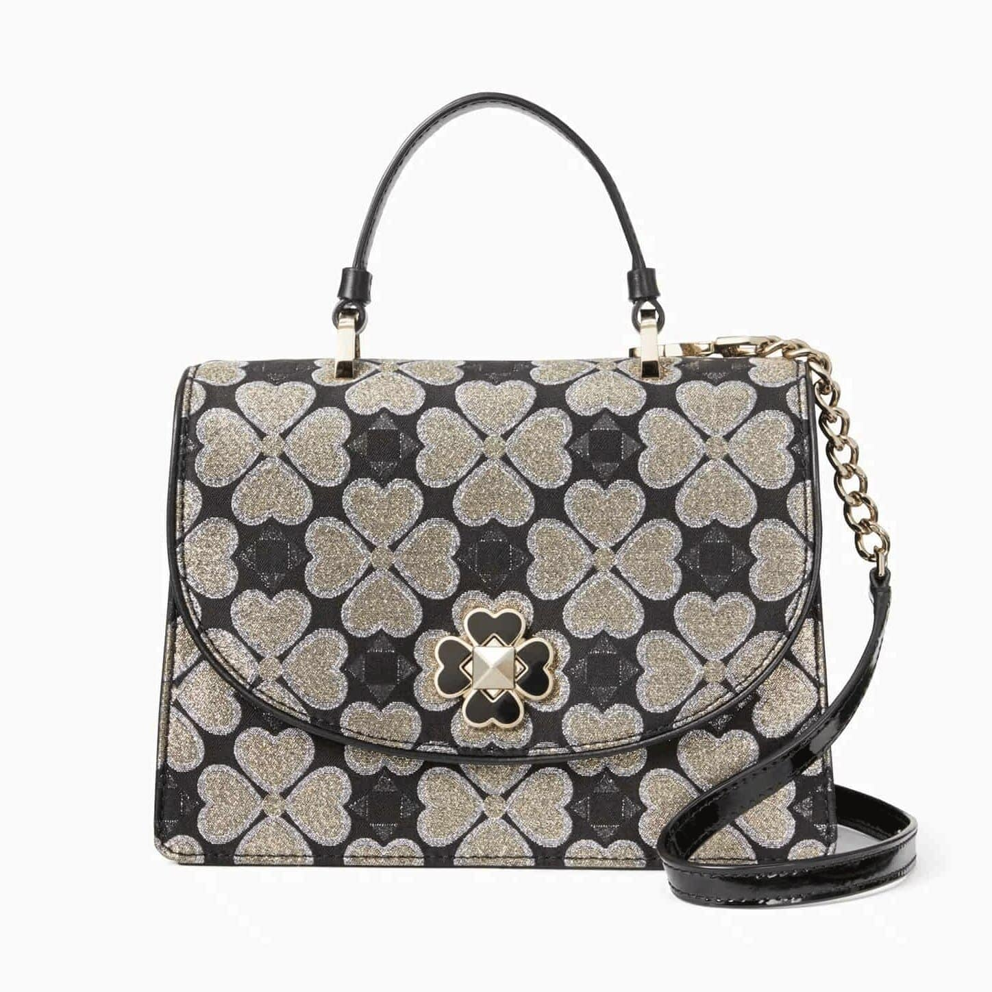 Kate Spade Odette Jacquard Small Top Handle Satchel