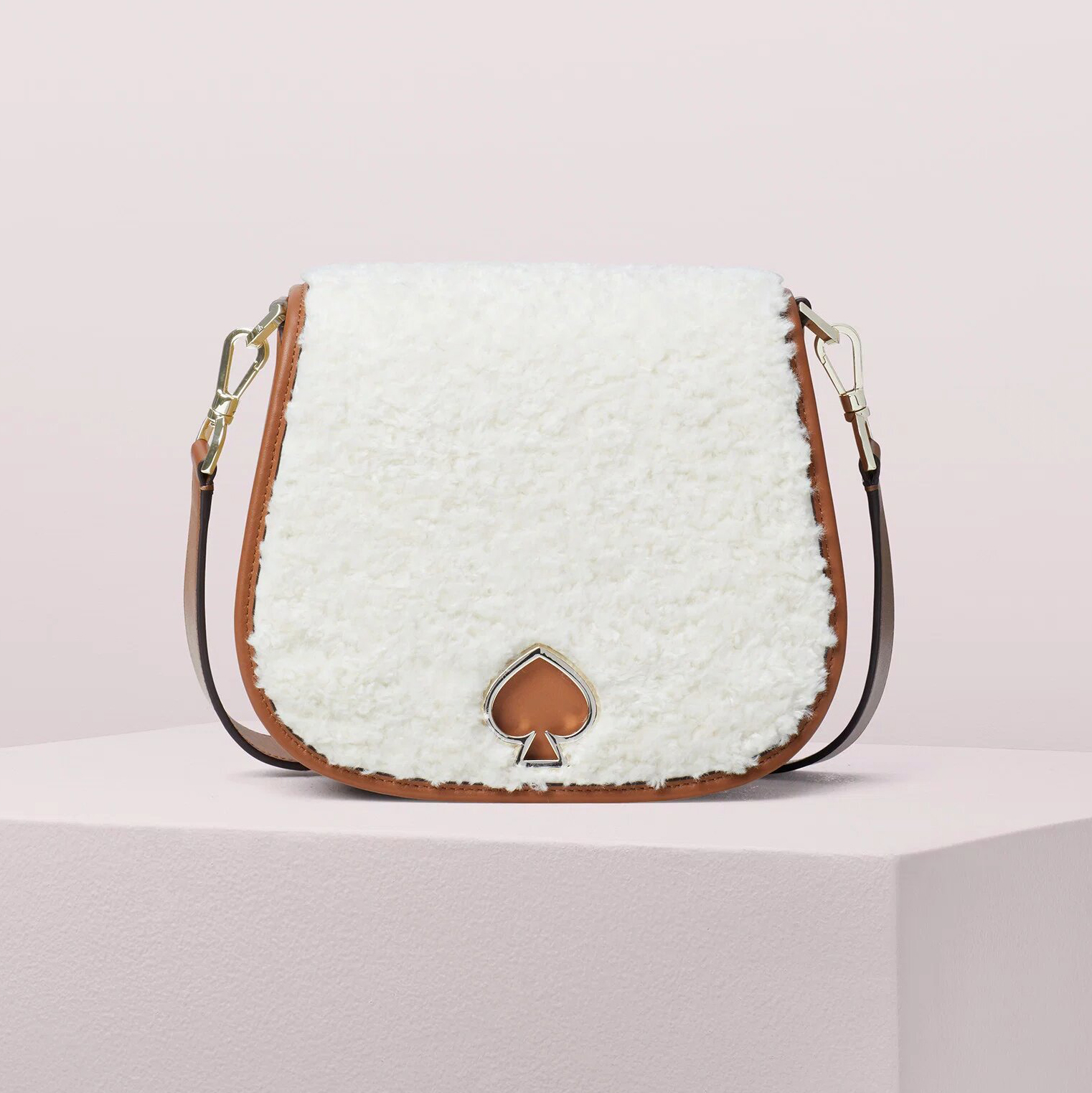Suzy Fluffy Large Saddle Bag