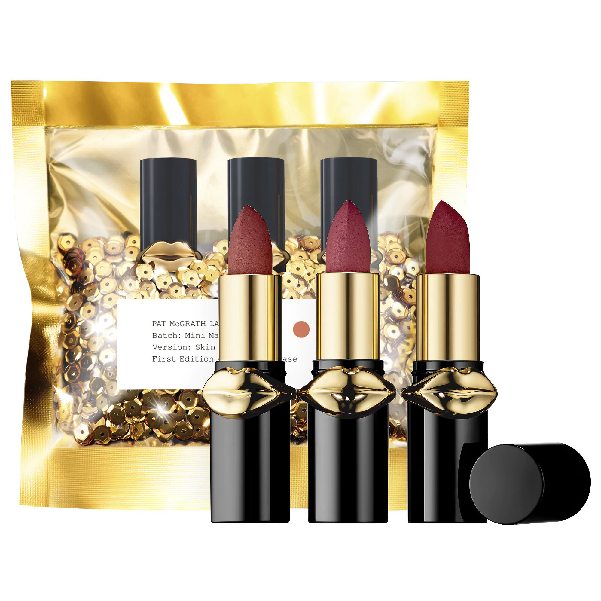 LUST Mini MatteTrance™ Lipstick Trio PAT McGRATH LABS